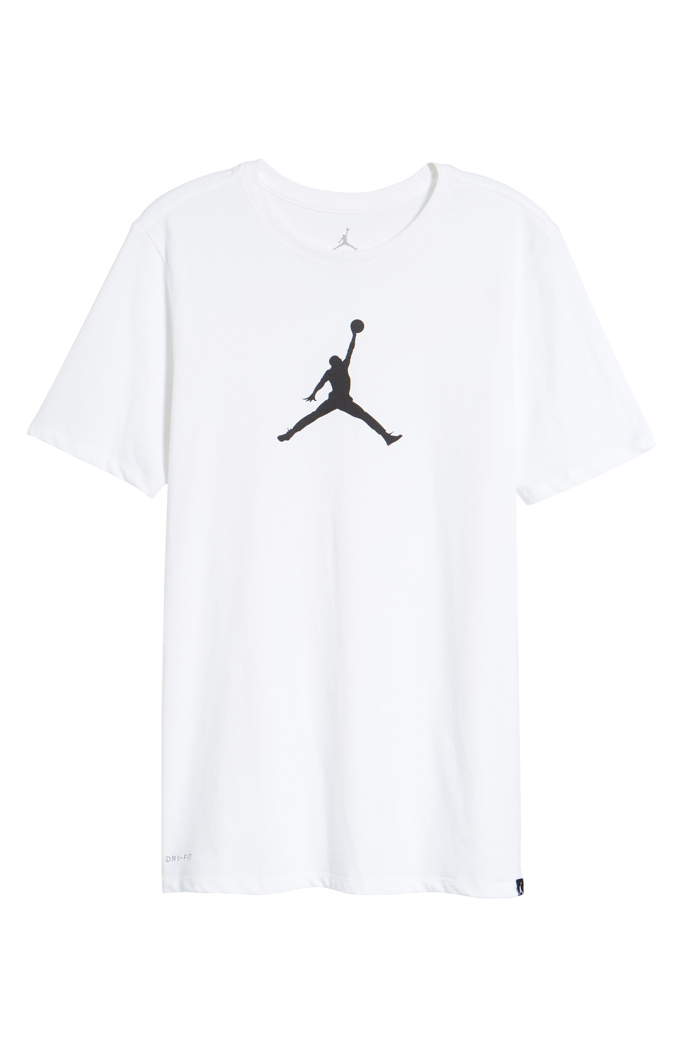 Iconic Jumpman Graphic T-Shirt,                             Alternate thumbnail 12, color,