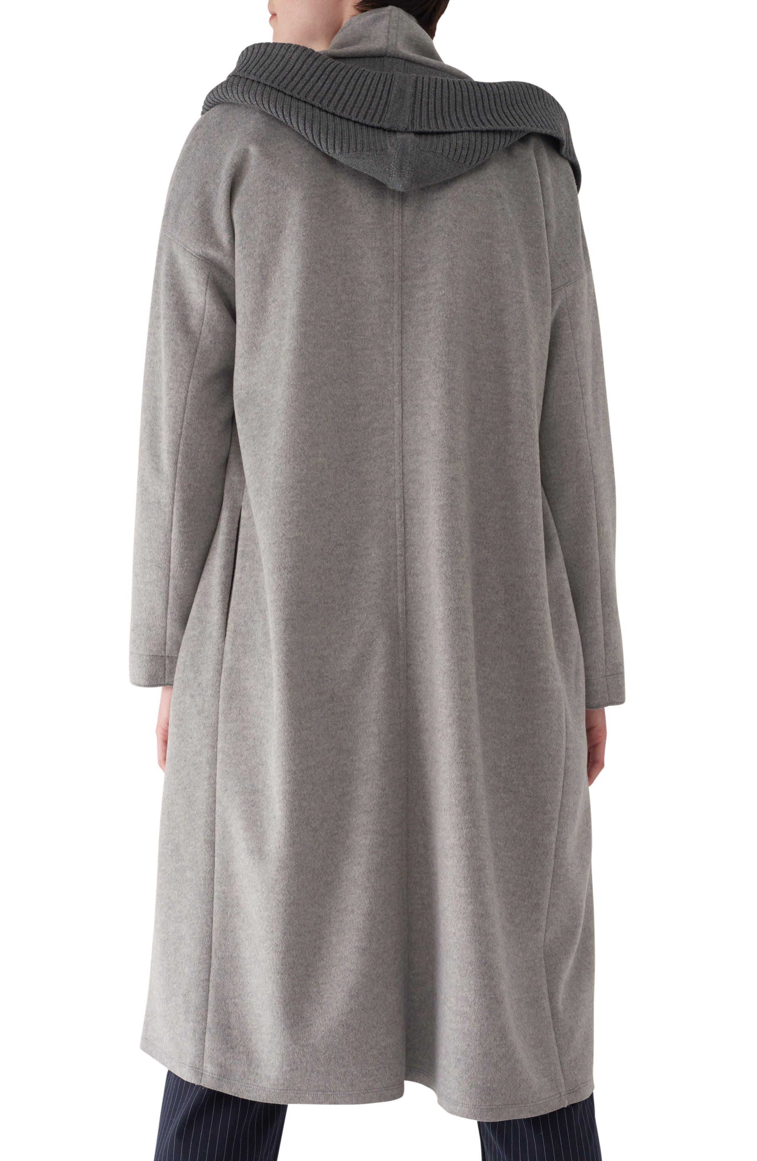 Brandy Stone Grey Duster Coat,                             Alternate thumbnail 2, color,                             GREY