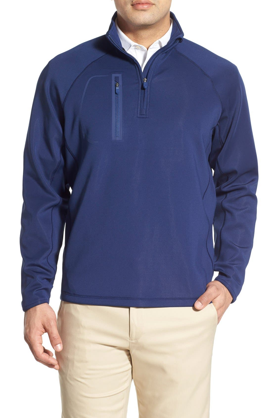 XH2O Crawford Stretch Quarter Zip Golf Pullover,                             Main thumbnail 9, color,