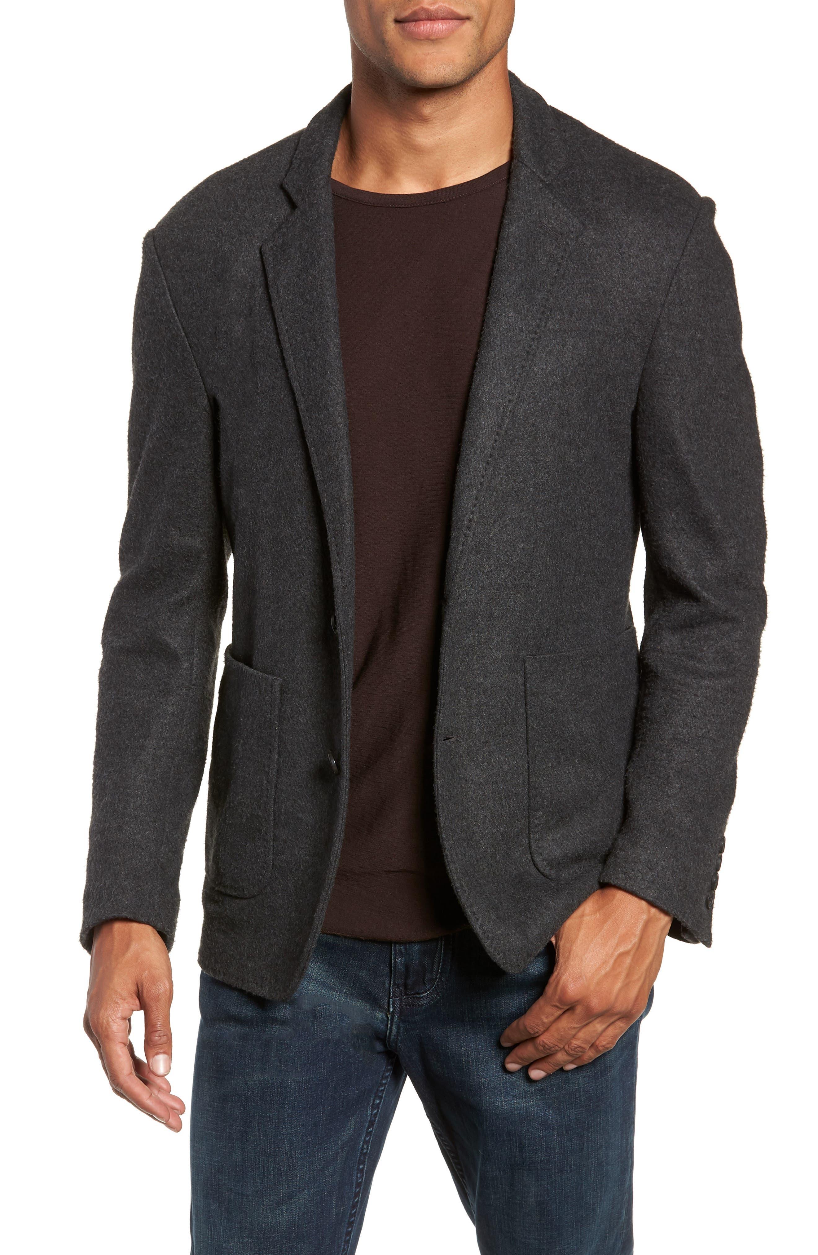 Dylan Regular Fit Sport Coat,                             Main thumbnail 1, color,                             CHARCOAL