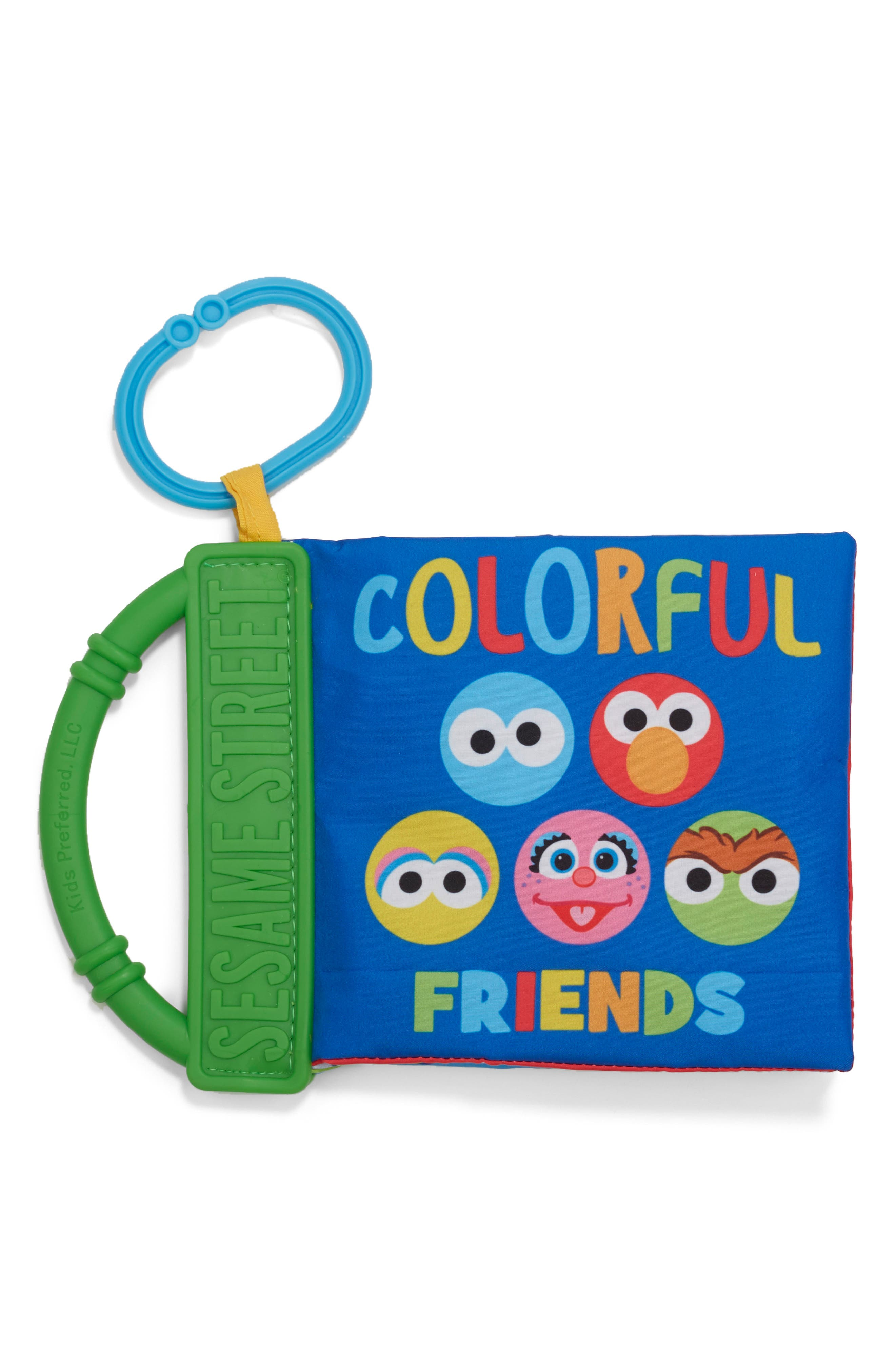Infant Kids Preferred Sesame Street Colorful Friends Soft Book