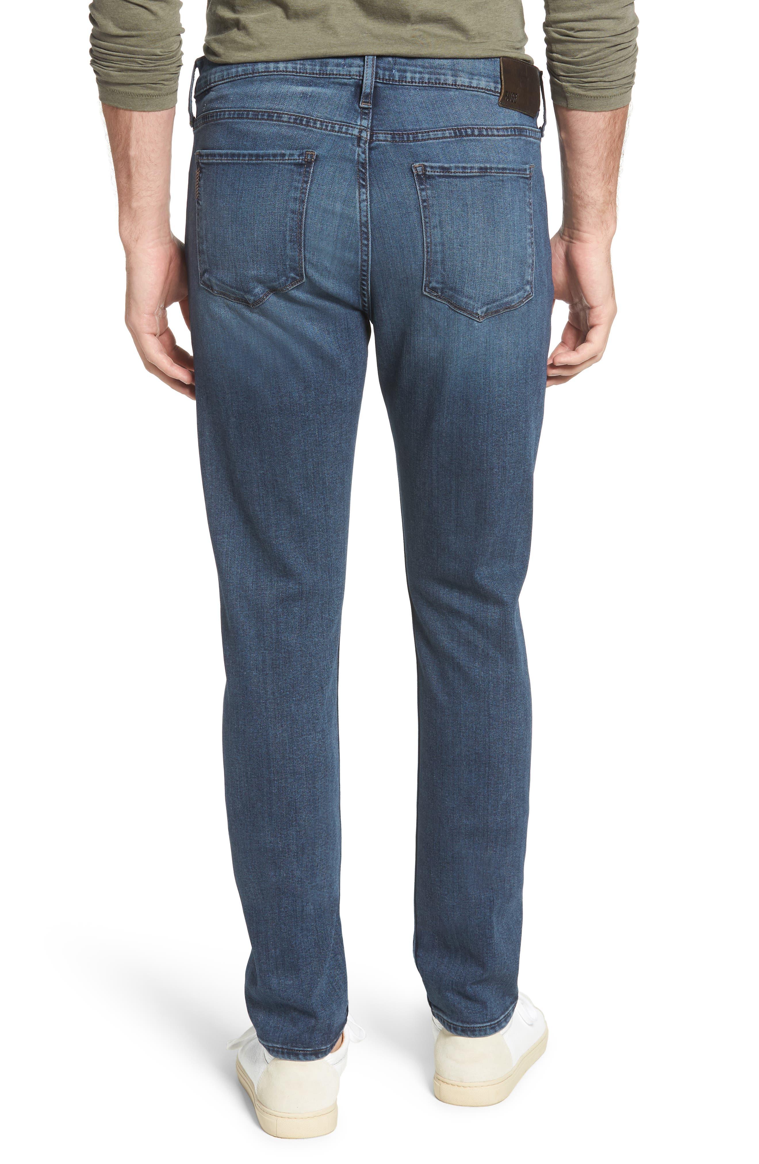 Transcend - Lennox Slim Fit Jeans,                             Alternate thumbnail 2, color,                             GRAMMERCY