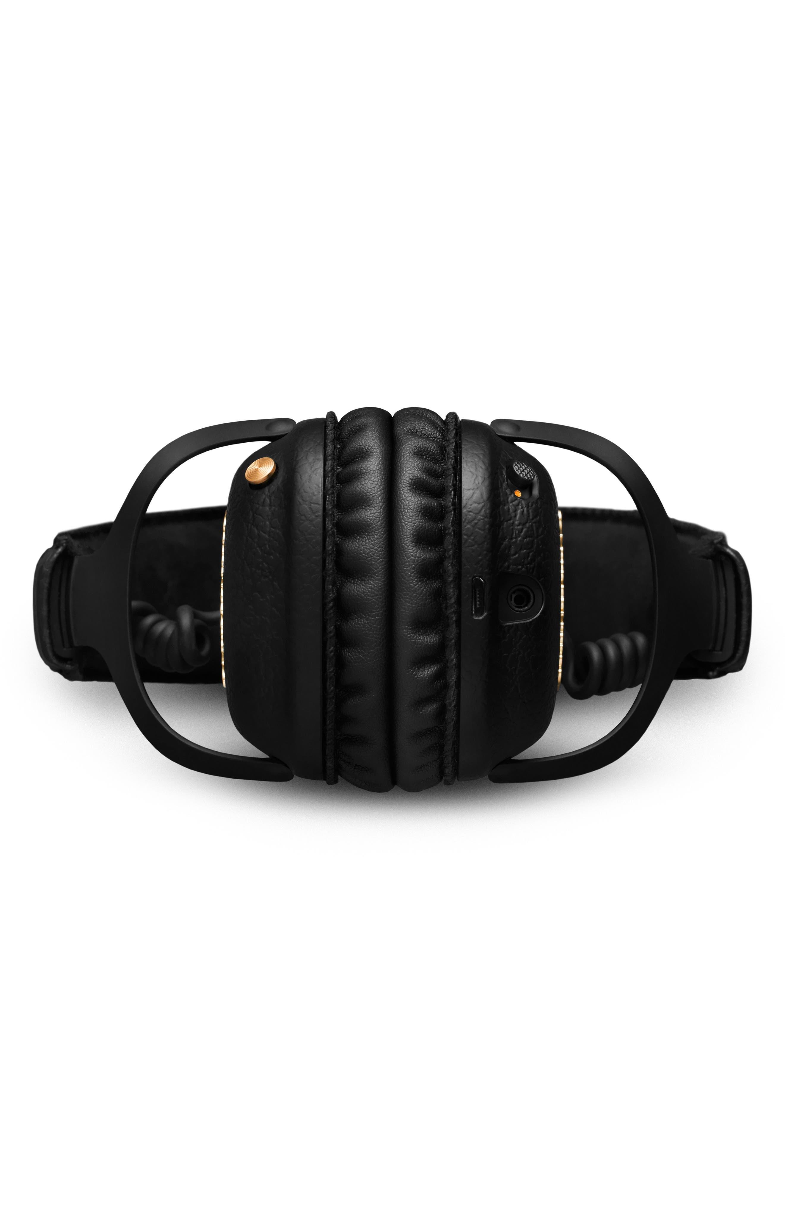 MID ANC Bluetooth<sup>®</sup> On-Ear Headphones,                             Alternate thumbnail 5, color,                             BLACK