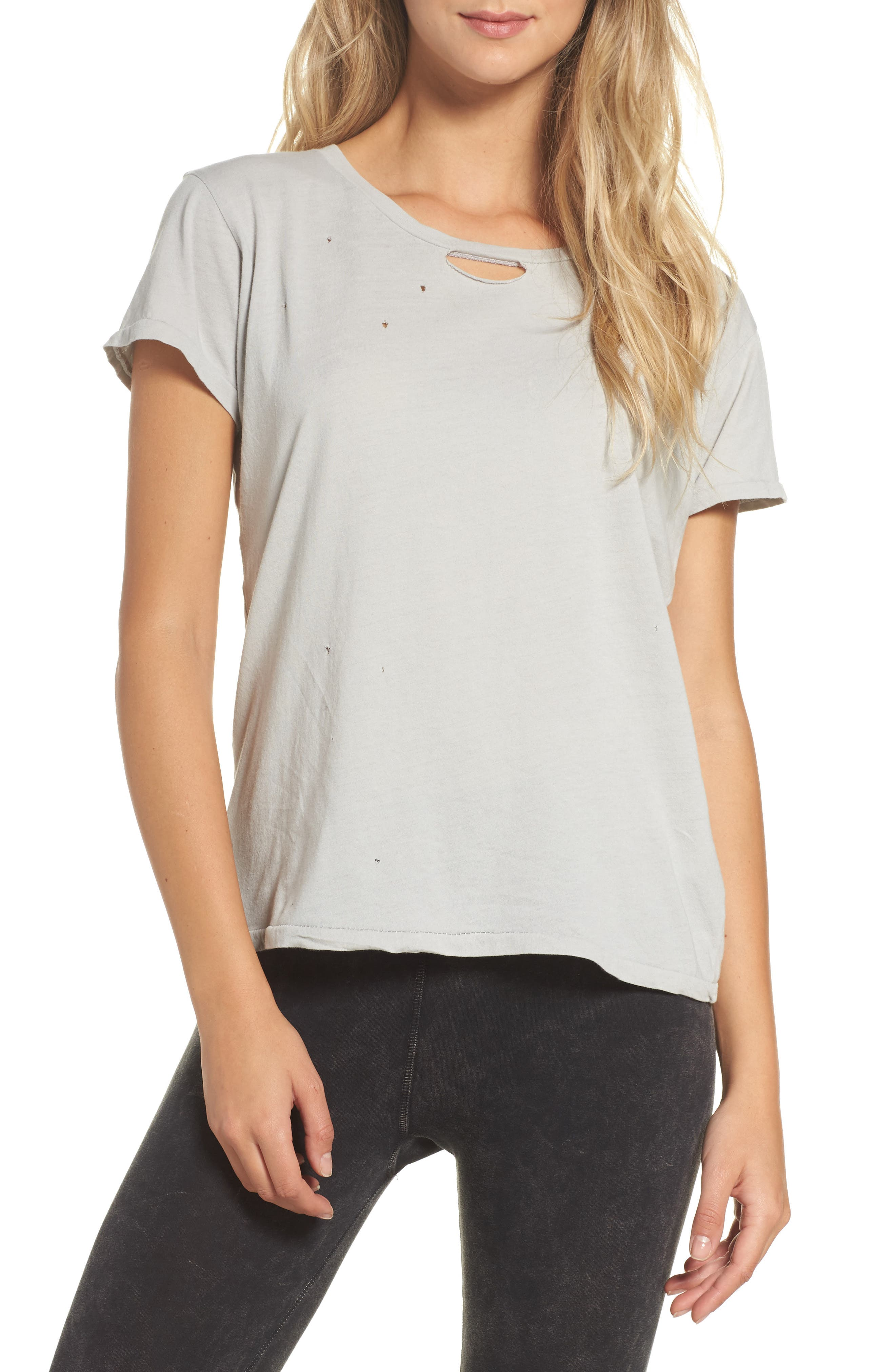 Distressed Tee,                         Main,                         color, 400