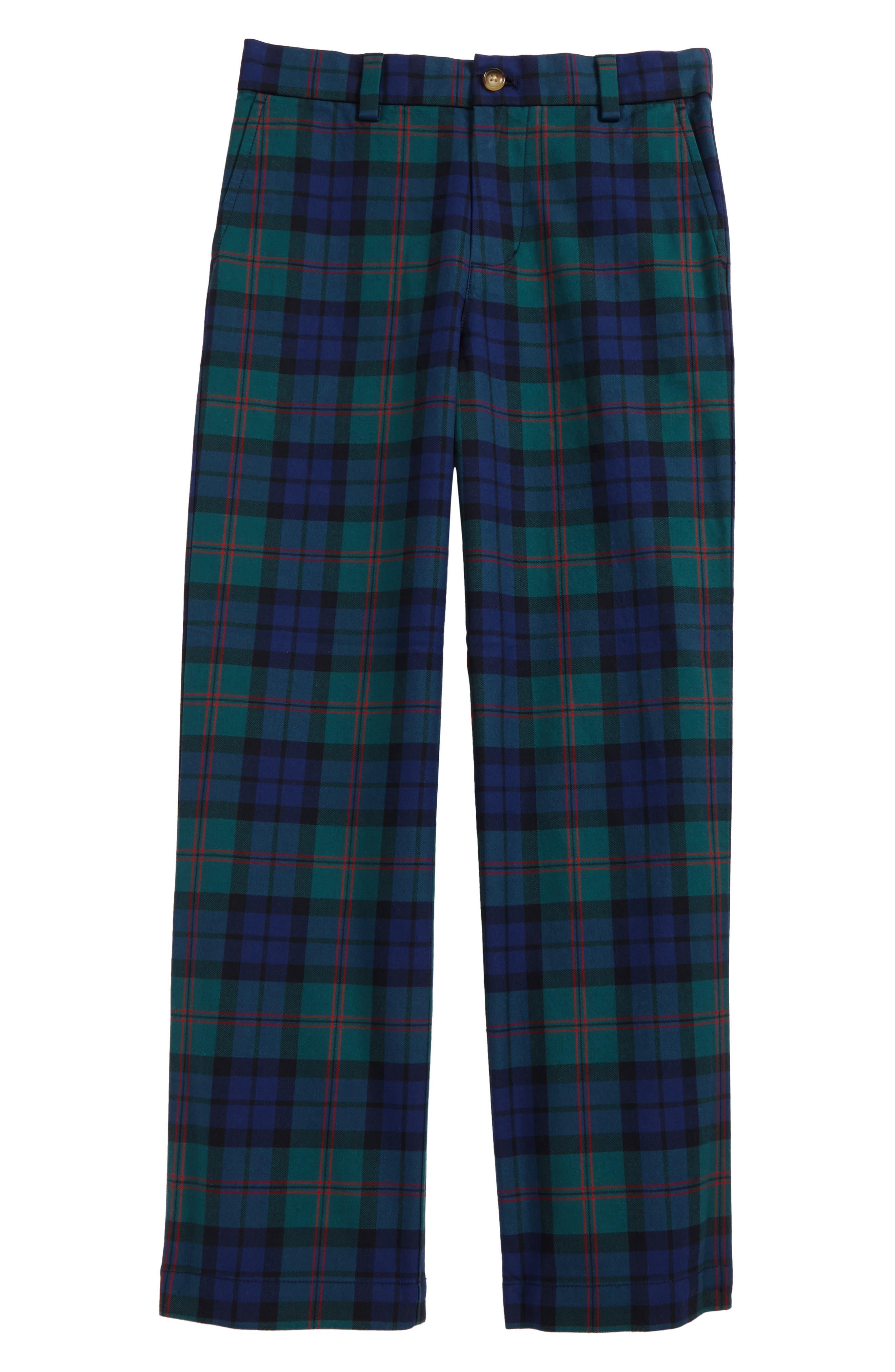 Holiday Black Watch Plaid Pants,                             Main thumbnail 1, color,                             342