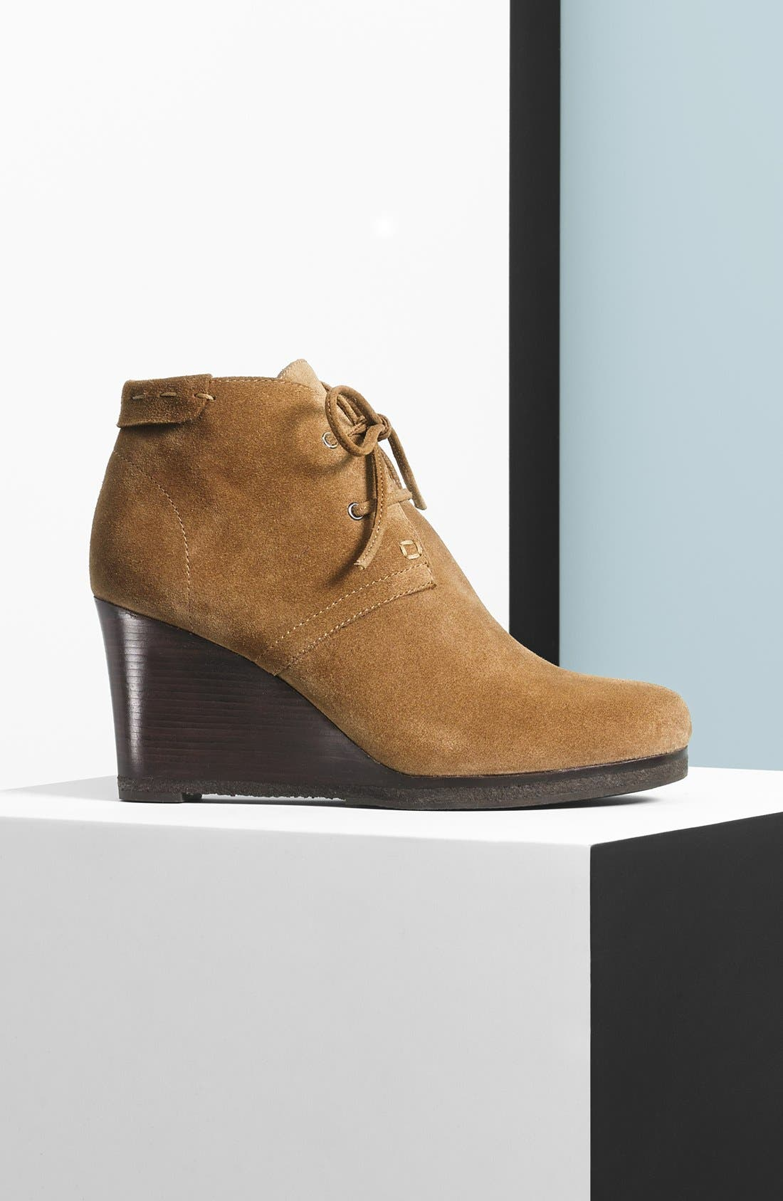 'Mirren' Wedge Bootie,                             Alternate thumbnail 6, color,                             002