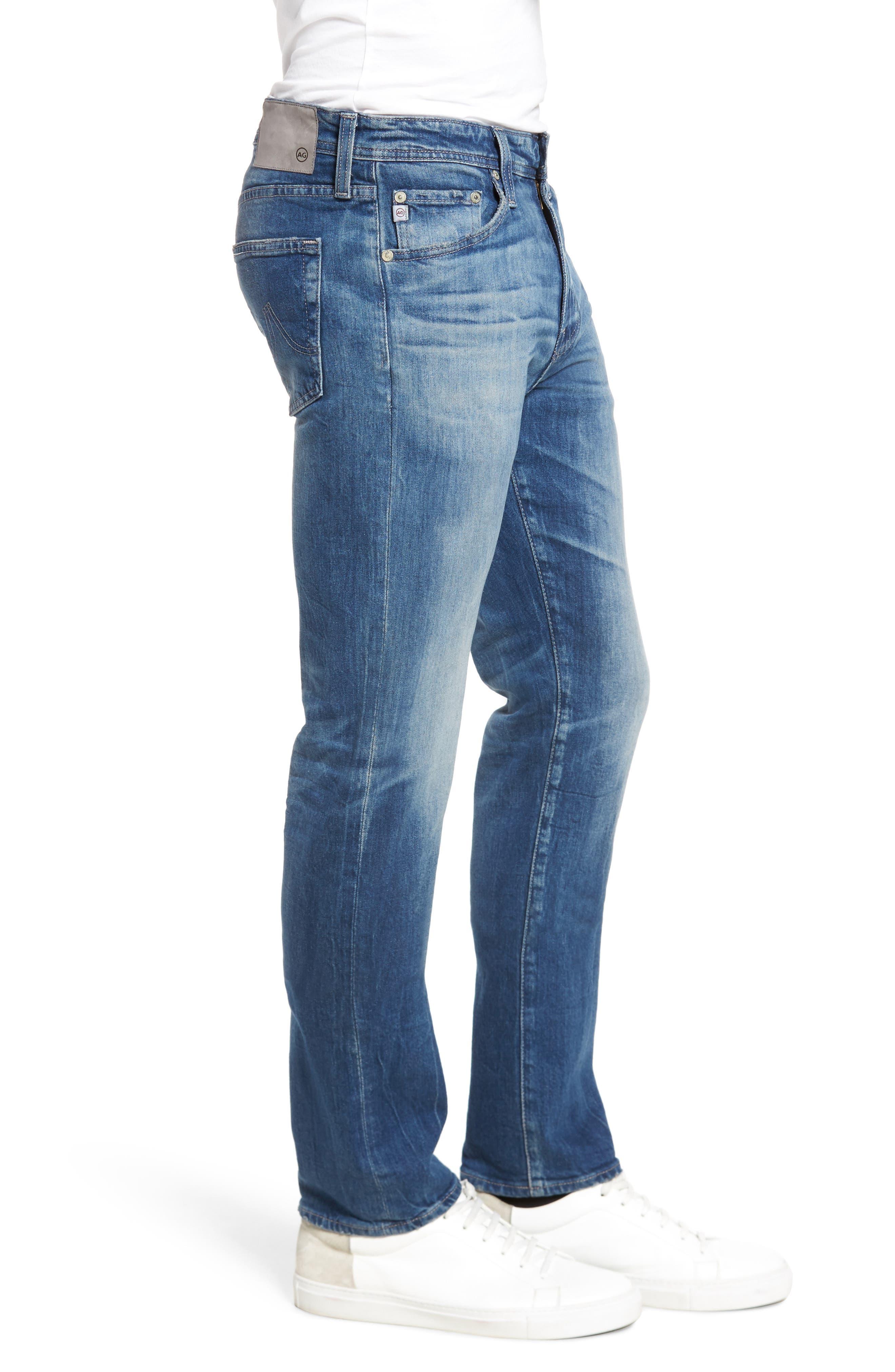 Everett Slim Straight Leg Jeans,                             Alternate thumbnail 3, color,                             429