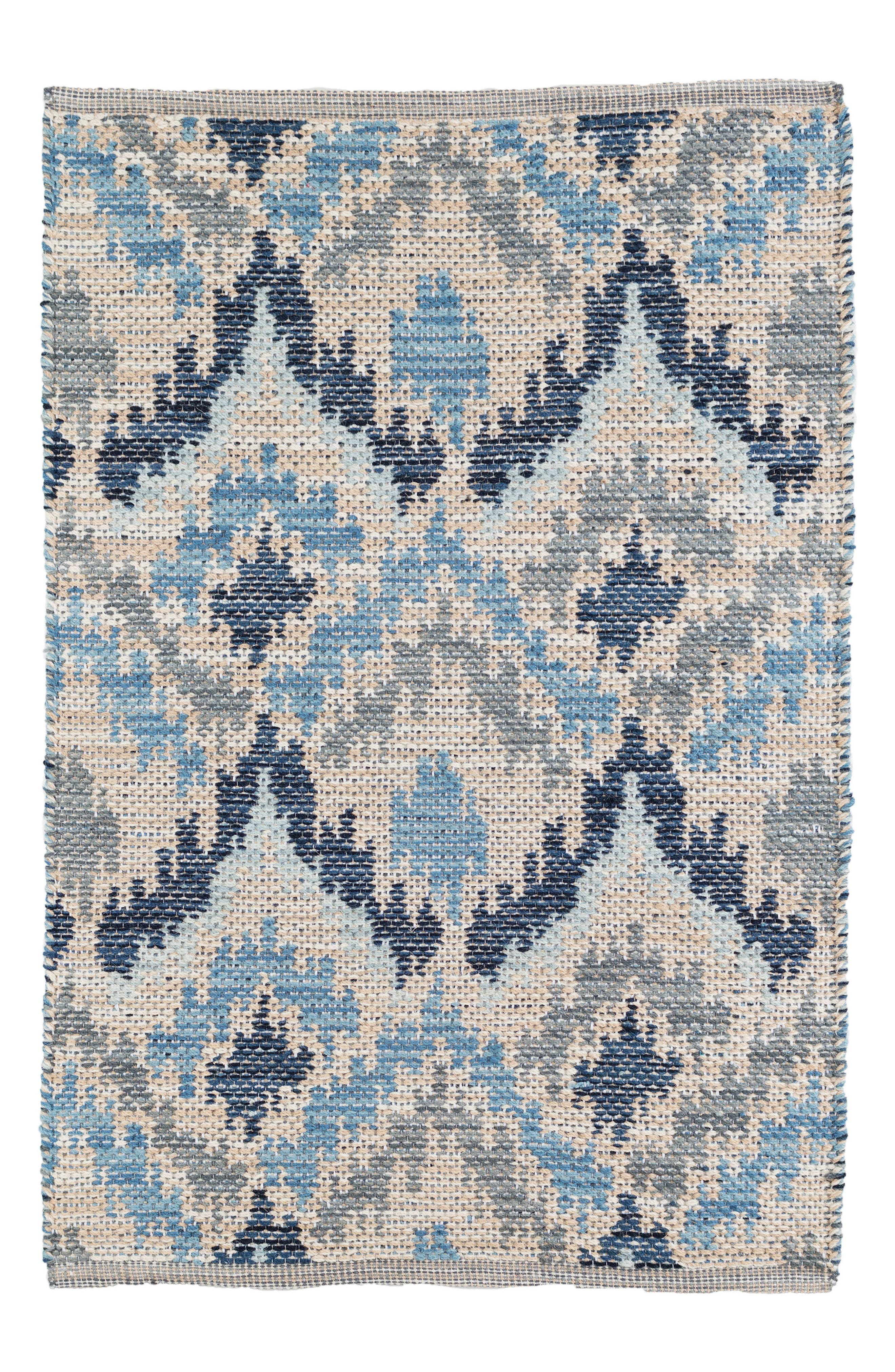 Medina Woven Rug,                         Main,                         color, BLUE