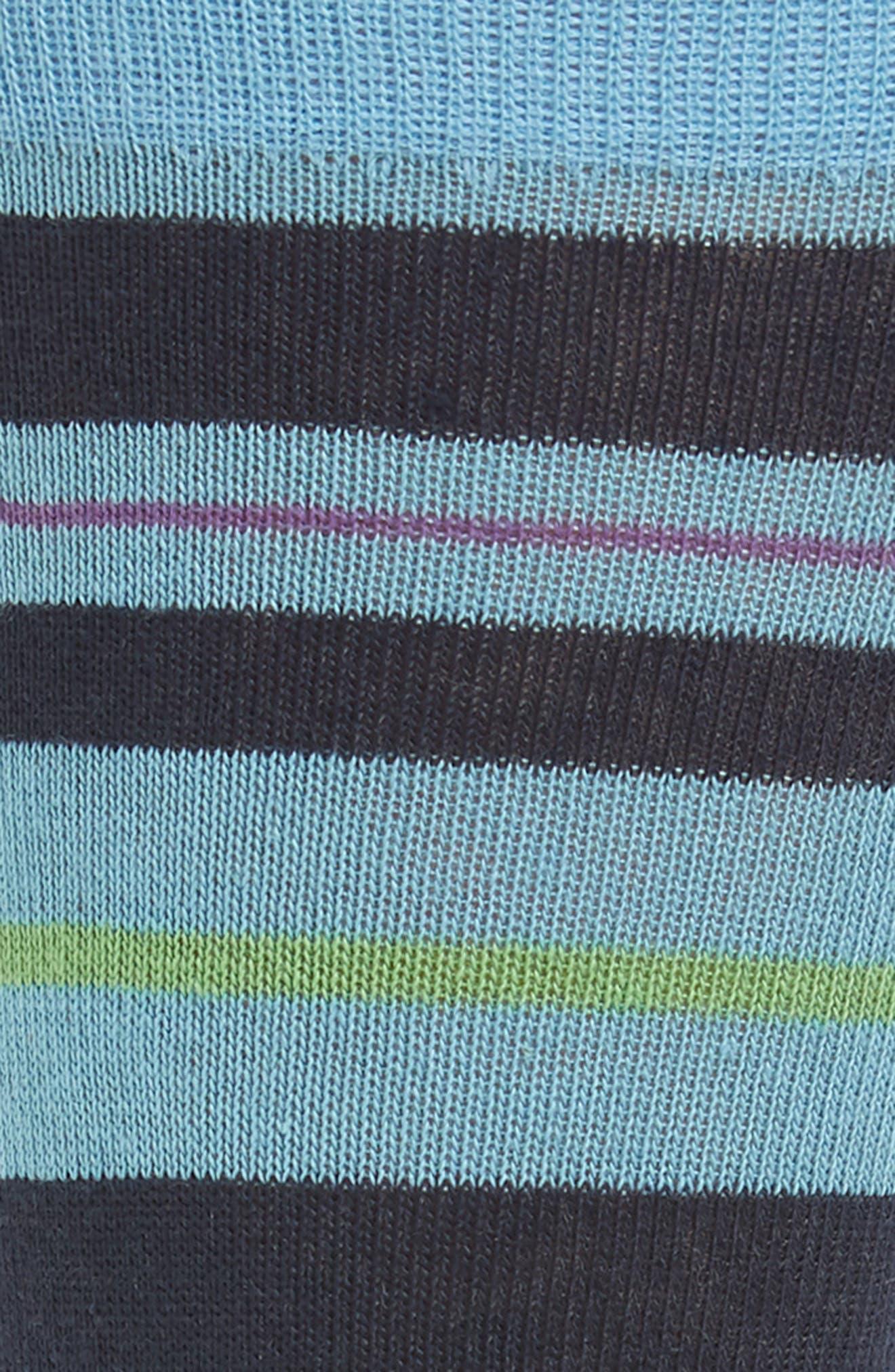 Mixed Stripe Socks,                             Alternate thumbnail 2, color,                             450