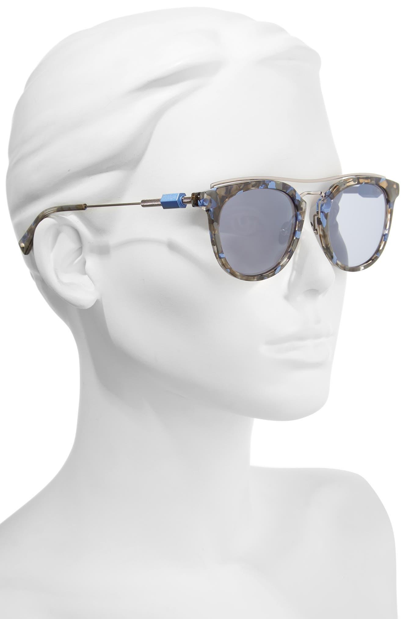 Zeal 52mm Aviator Sunglasses,                             Alternate thumbnail 8, color,