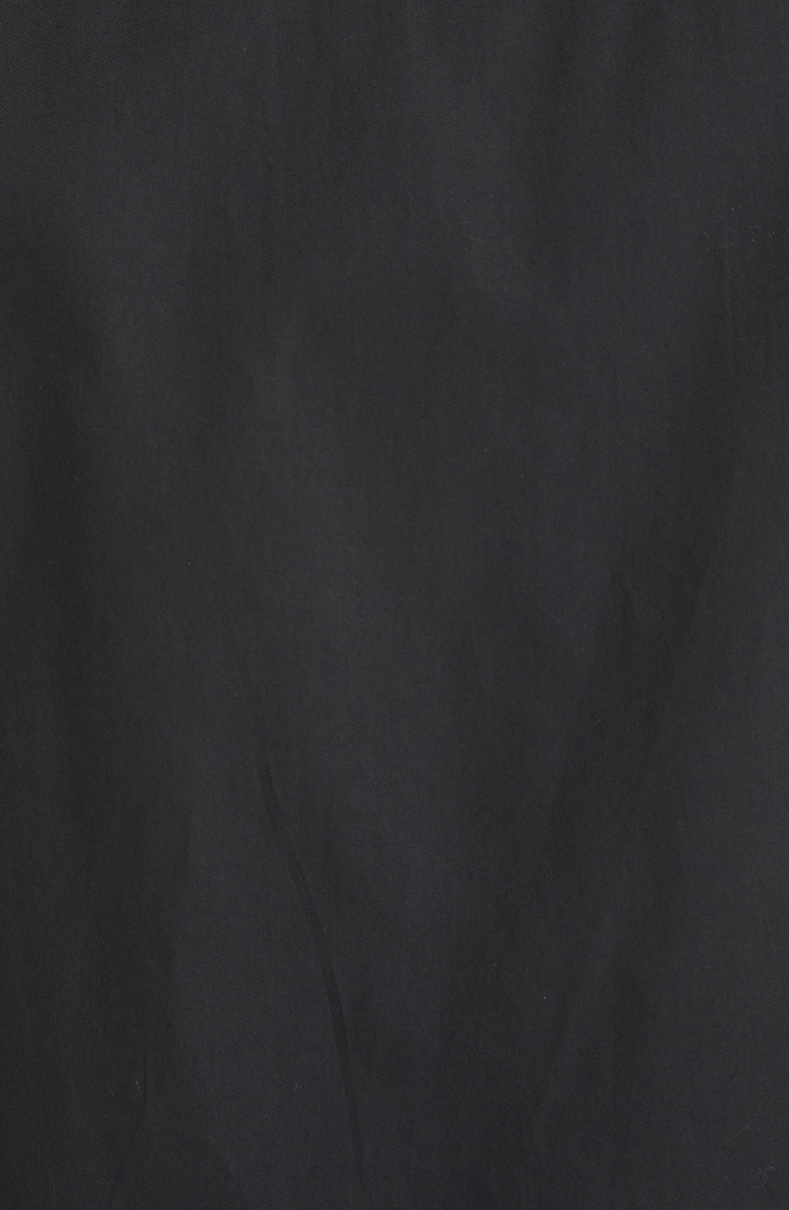 Short Sleeve Woven Shirt,                             Alternate thumbnail 5, color,                             001