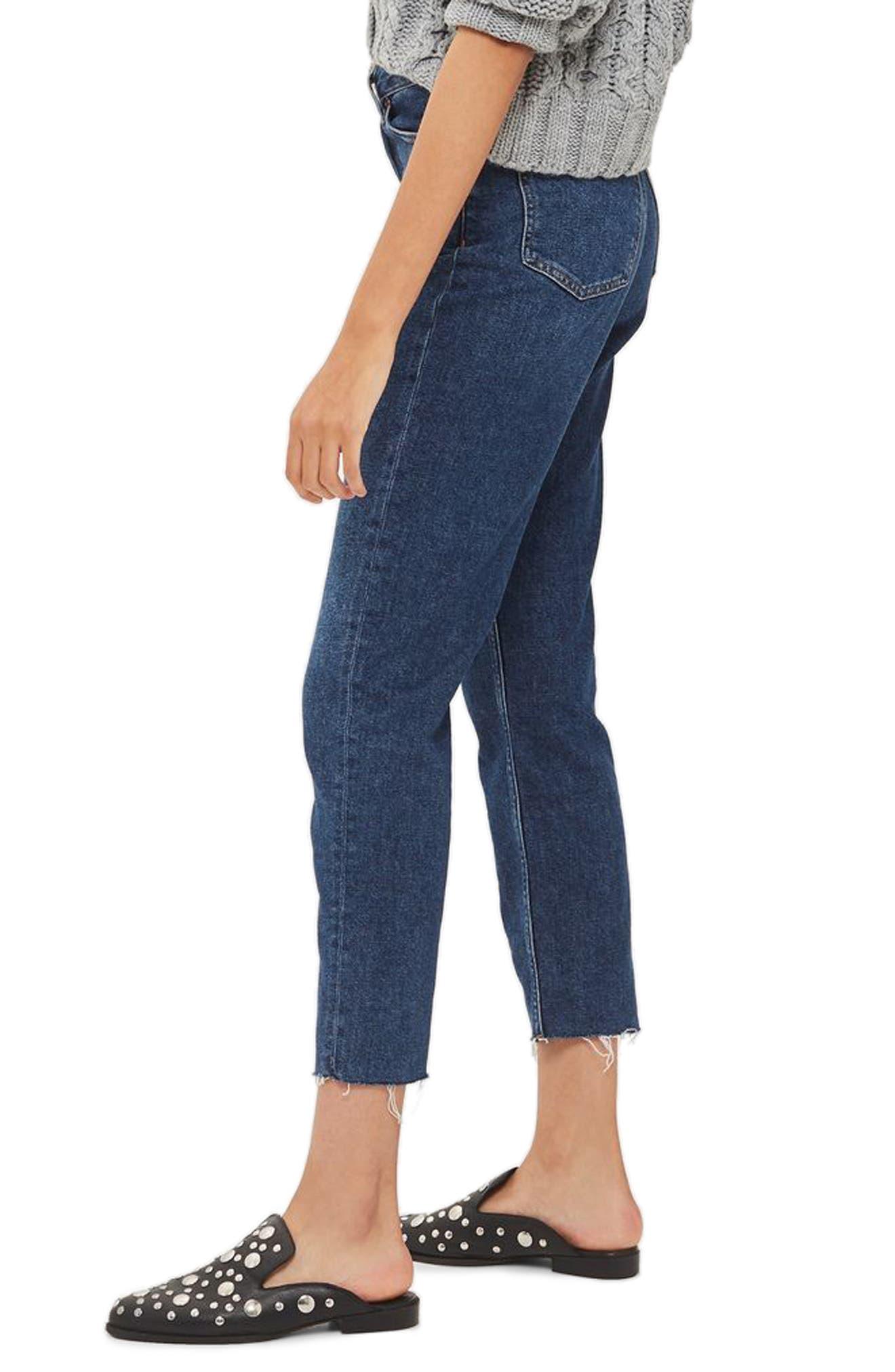 Crop Straight Leg Jeans,                             Alternate thumbnail 2, color,