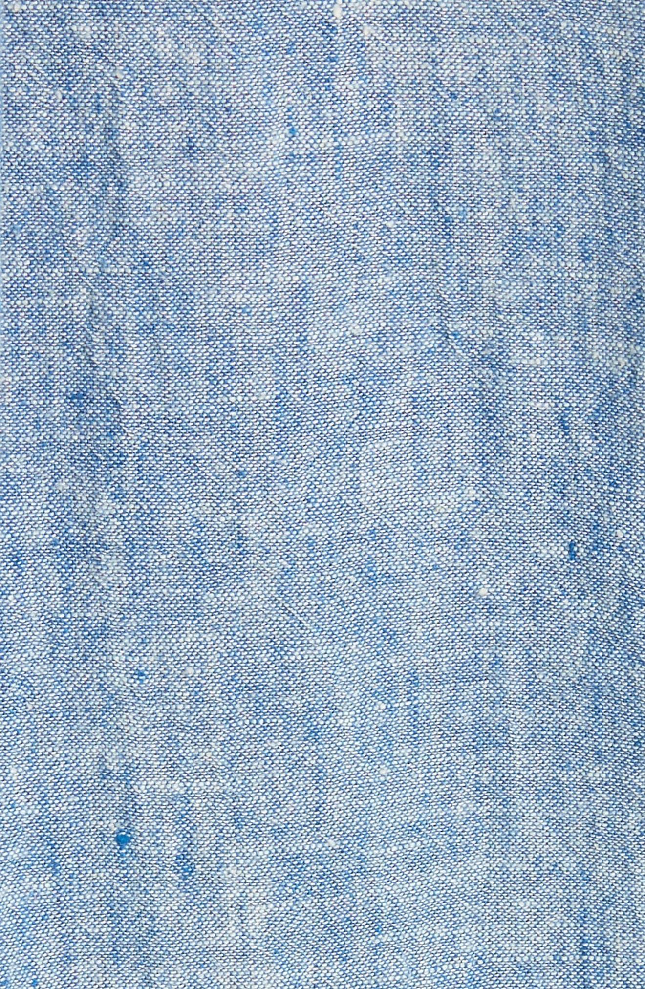 Amiri Chambray Shirtdress,                             Alternate thumbnail 5, color,                             409