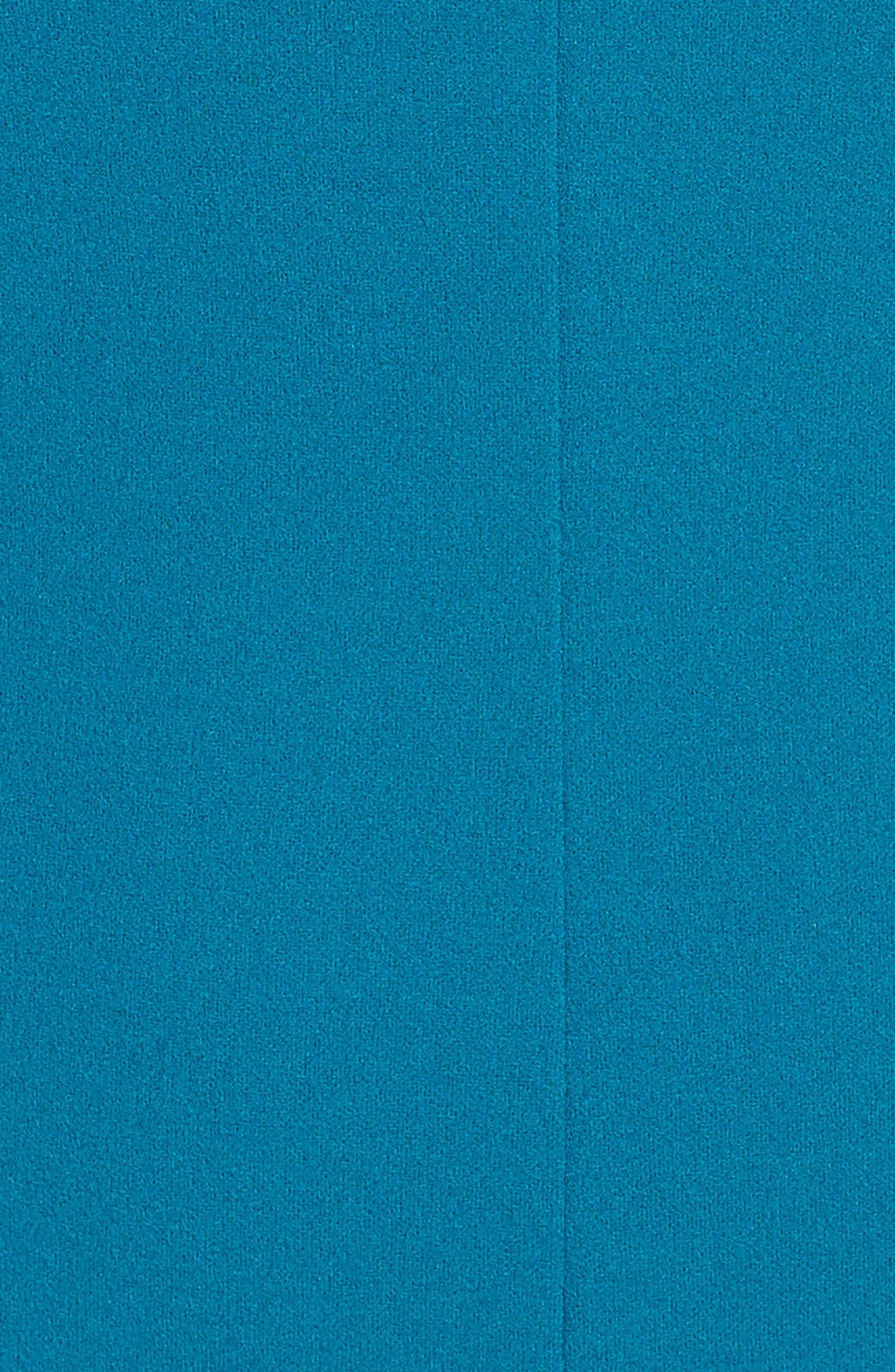 Bell Sleeve Sheath Dress,                             Alternate thumbnail 5, color,                             436