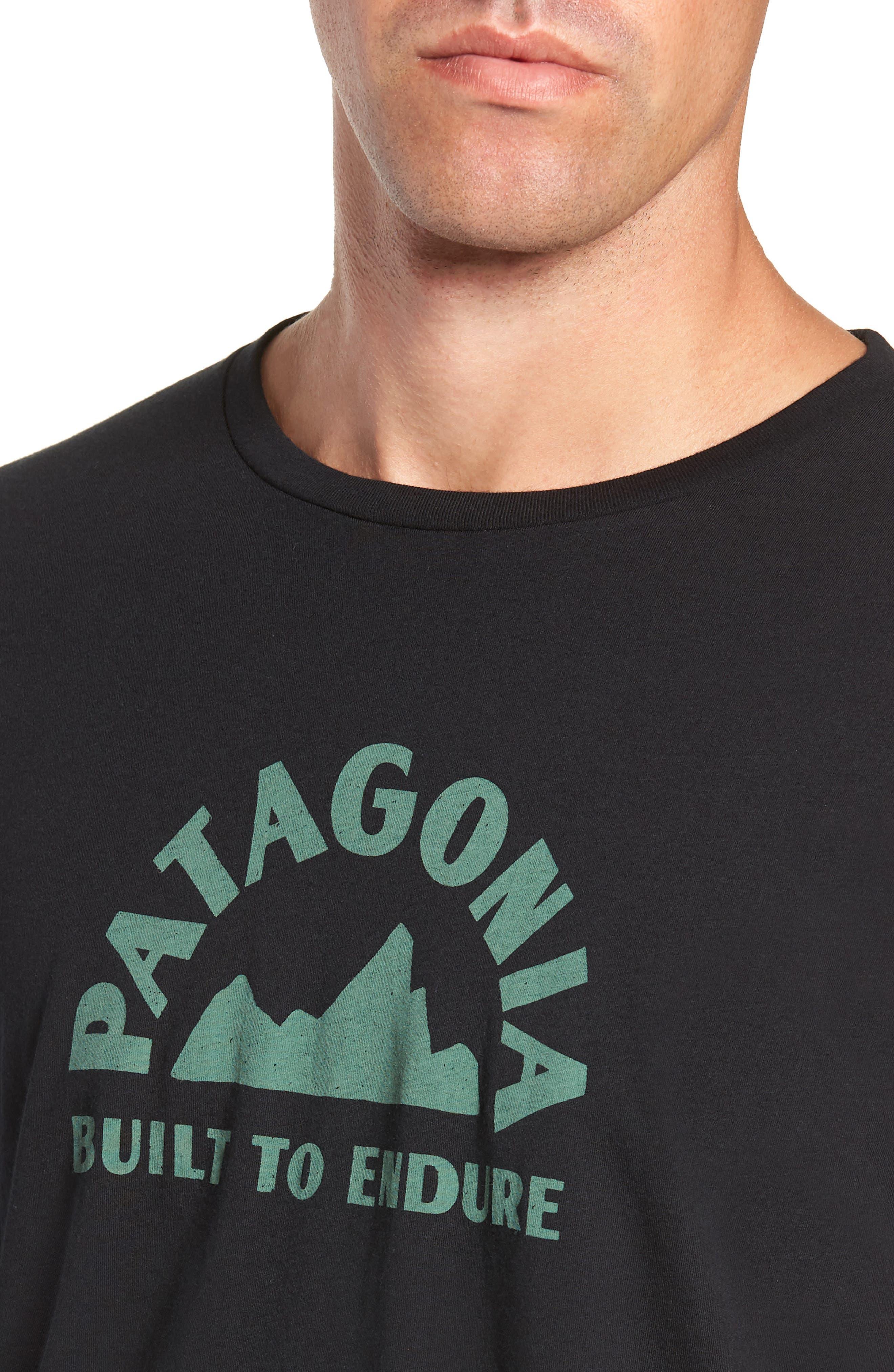 Geologers Organic Cotton T-Shirt,                             Alternate thumbnail 4, color,                             BLACK