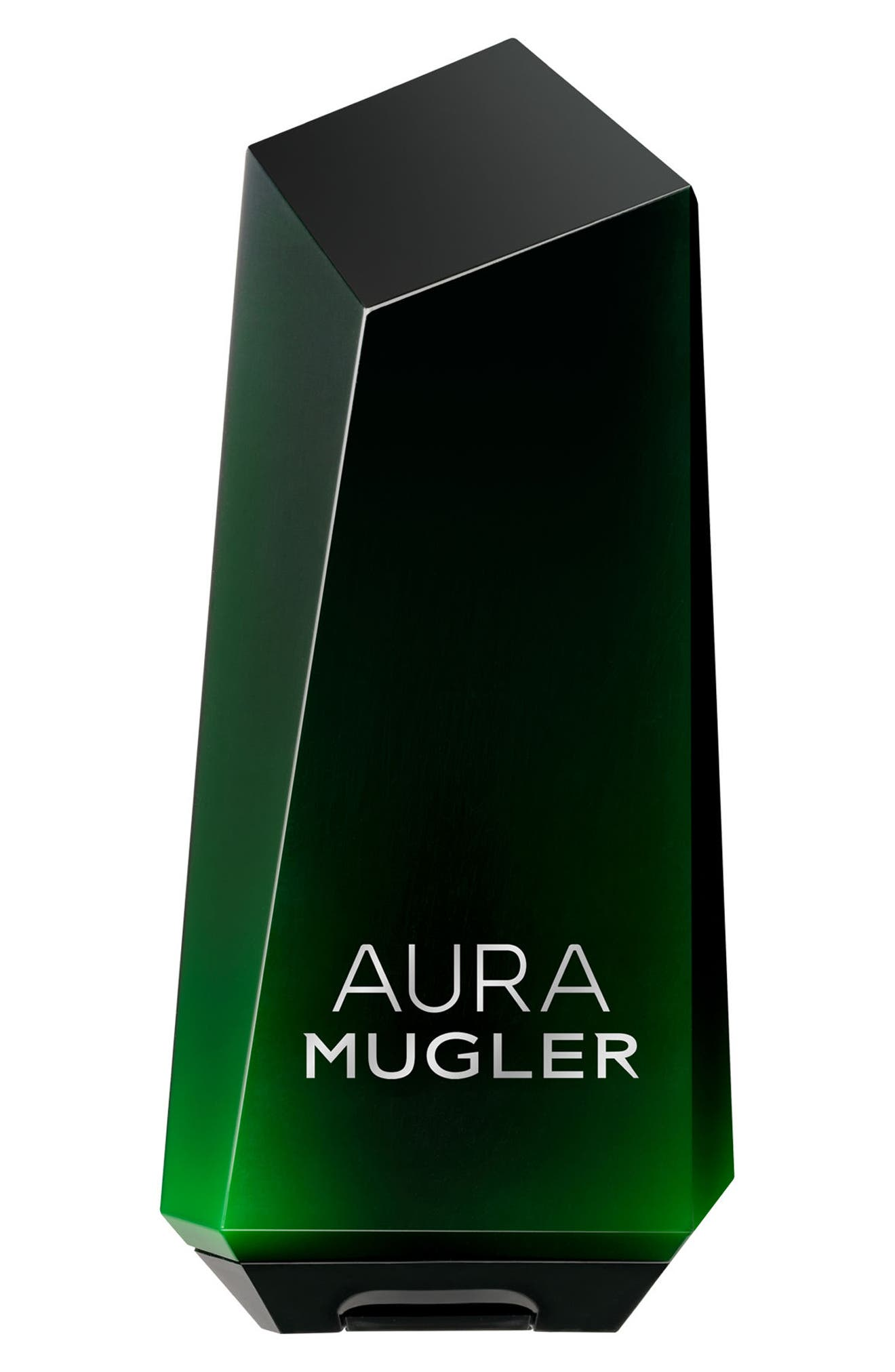 Aura Mugler Shower Milk,                             Main thumbnail 1, color,                             NO COLOR