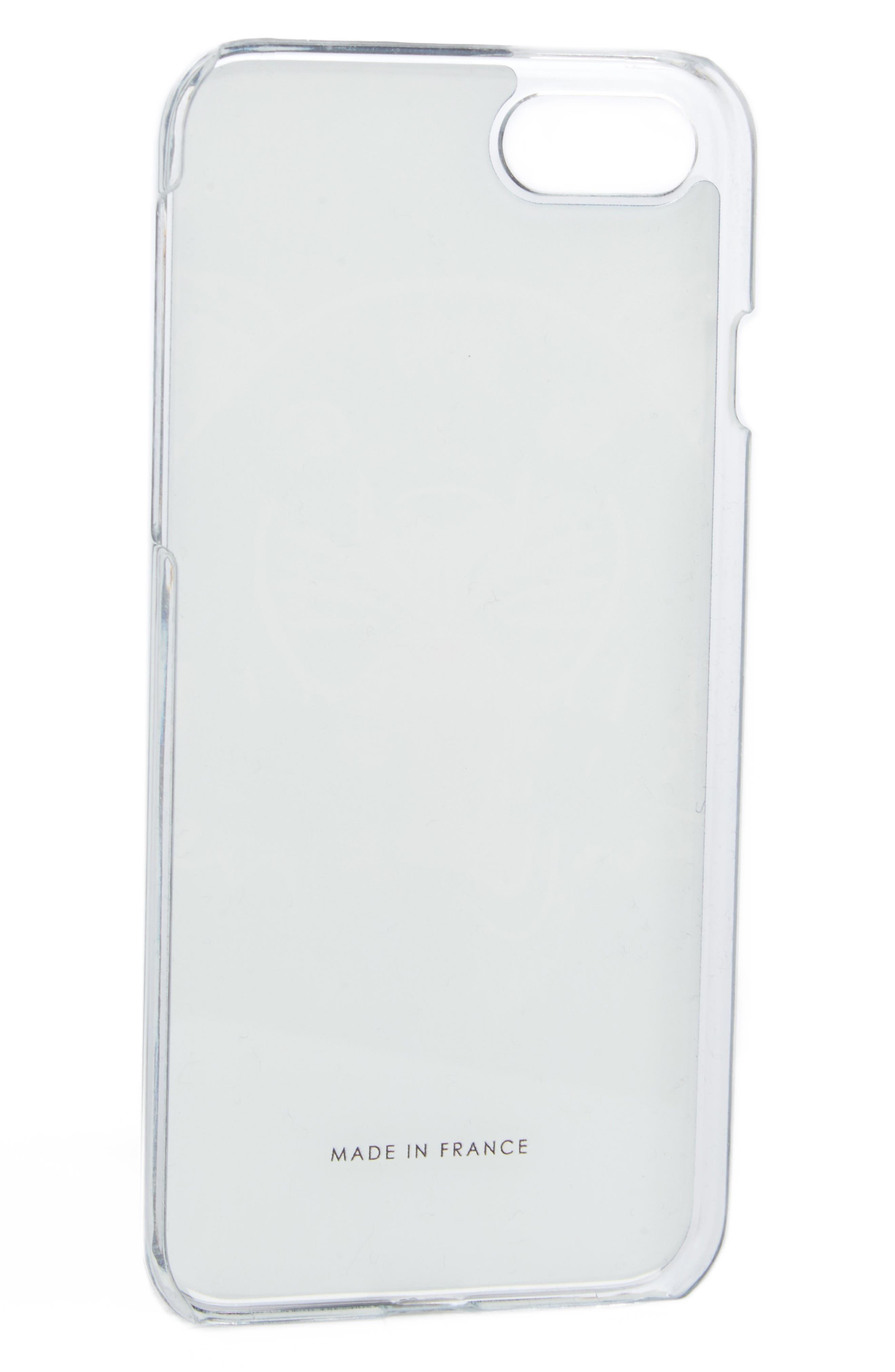 3D Tiger iPhone 7 Case,                             Main thumbnail 1, color,                             NAVY BLUE