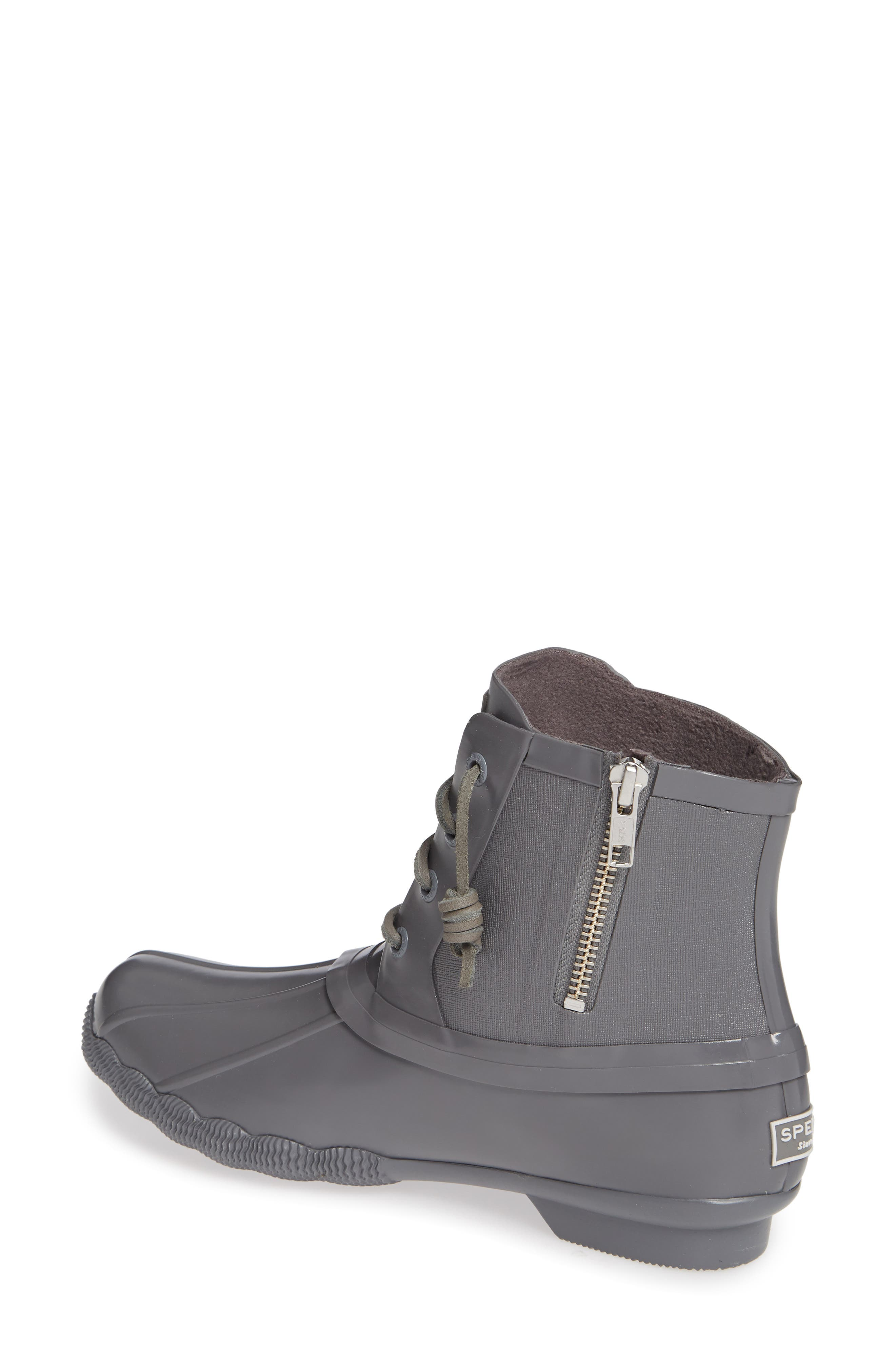 Flooded Rubber Saltwater Bootie,                             Alternate thumbnail 2, color,                             GREY