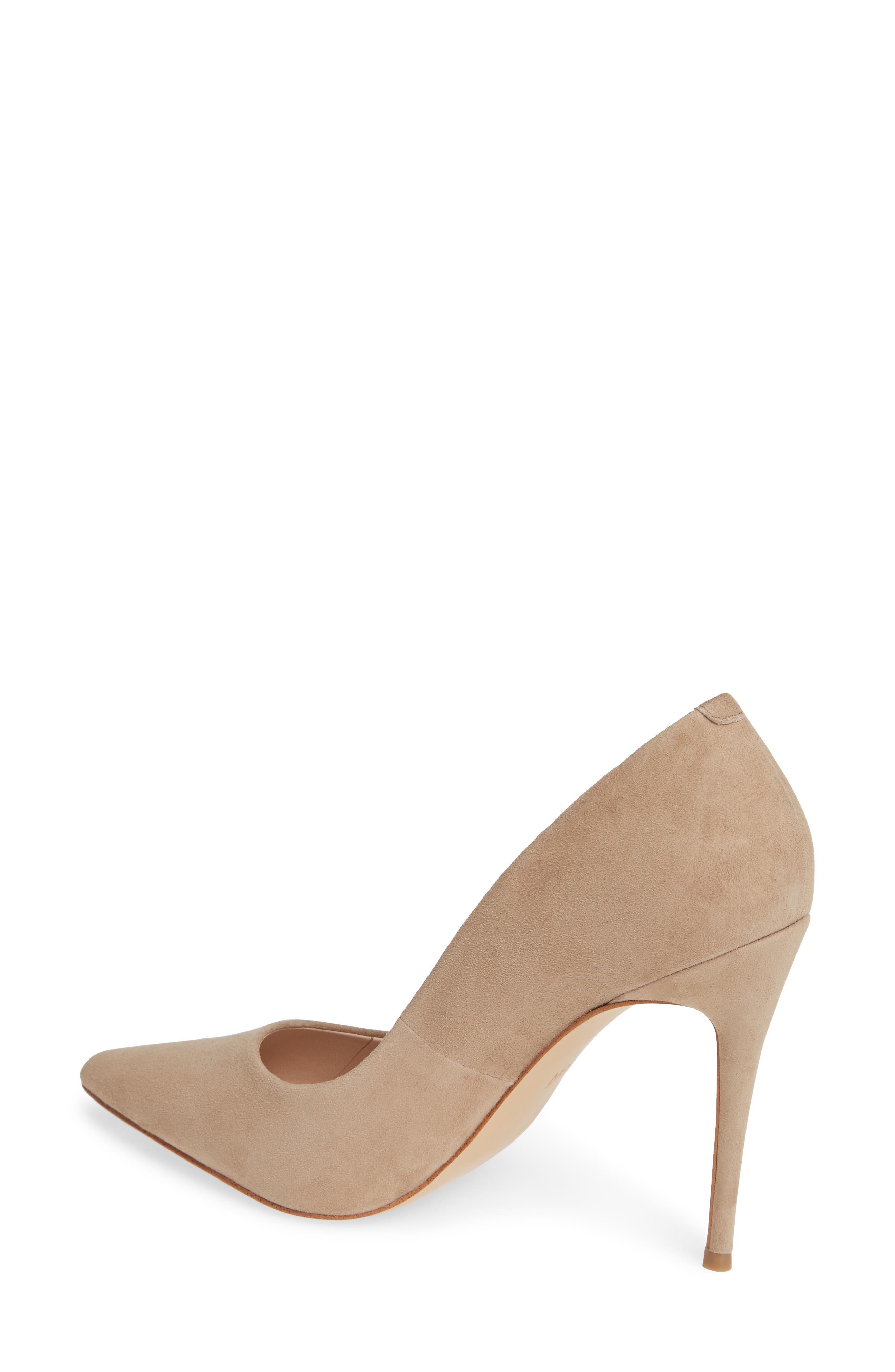Emma Pump,                             Alternate thumbnail 2, color,                             TAUPE SUEDE