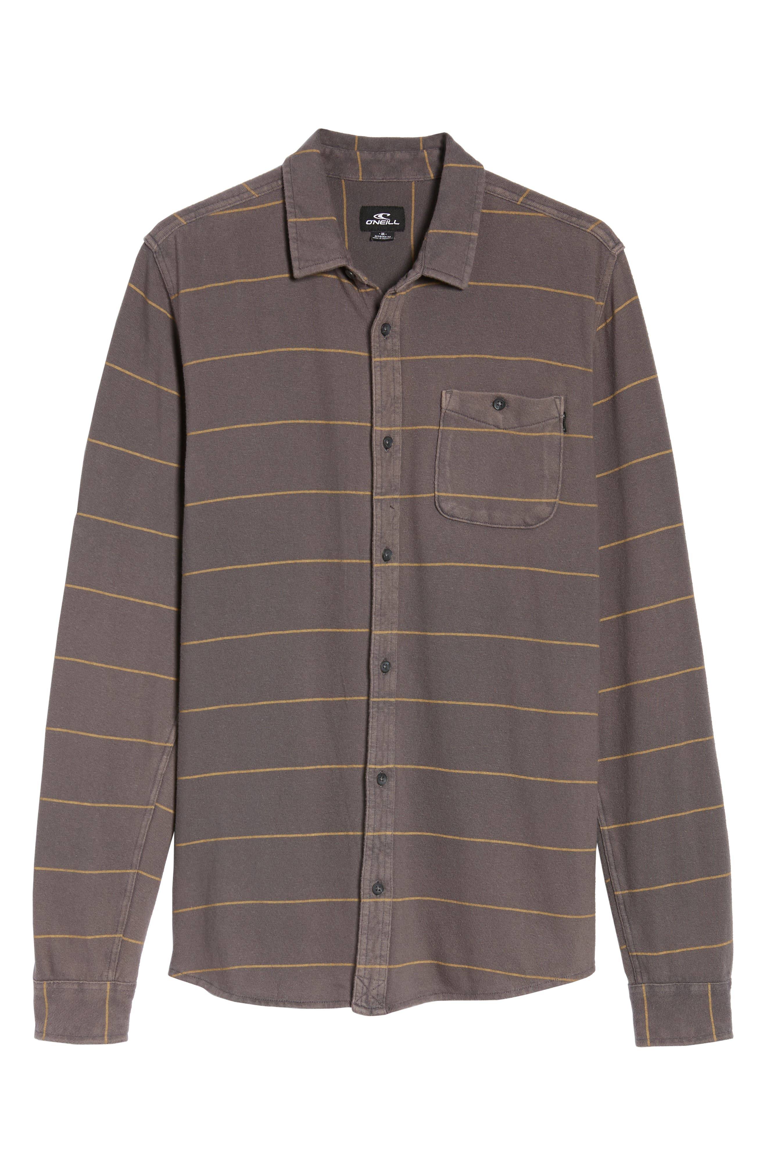 Cowell Knit Button-Up Shirt,                             Alternate thumbnail 6, color,                             020