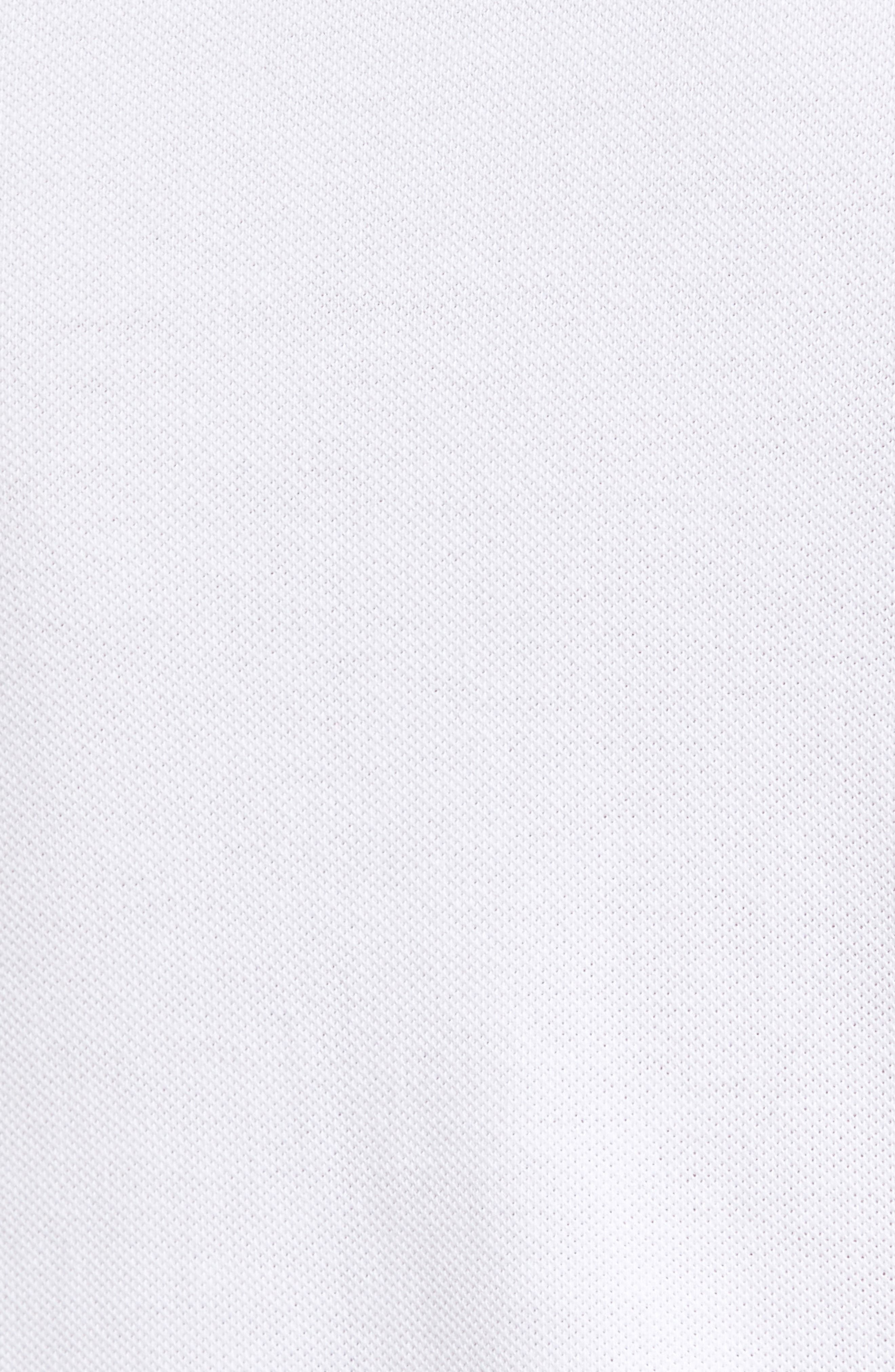 Piqué Polo,                             Alternate thumbnail 5, color,                             100