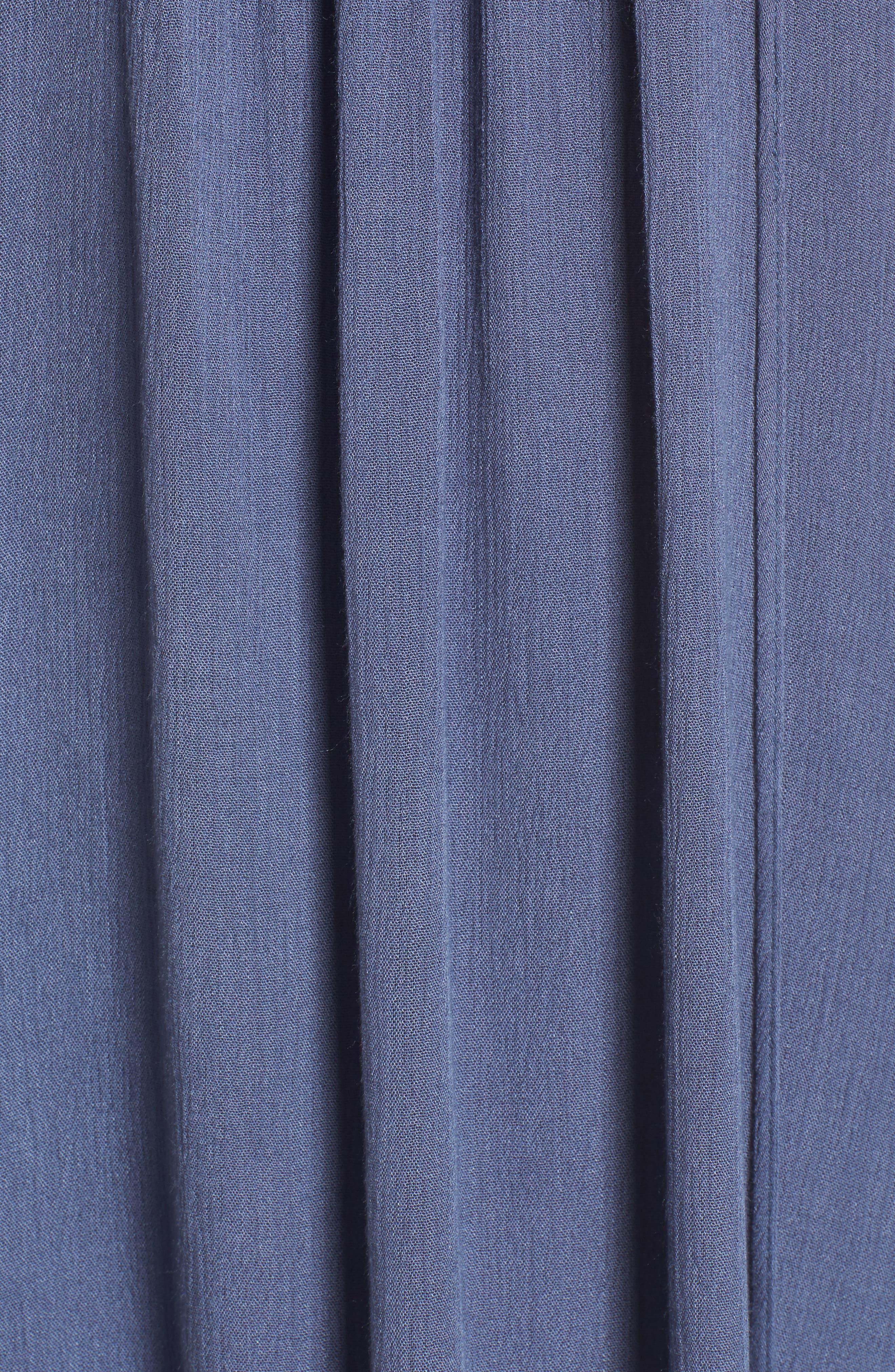 Julia Lace-Up Swing Dress,                             Alternate thumbnail 5, color,                             420