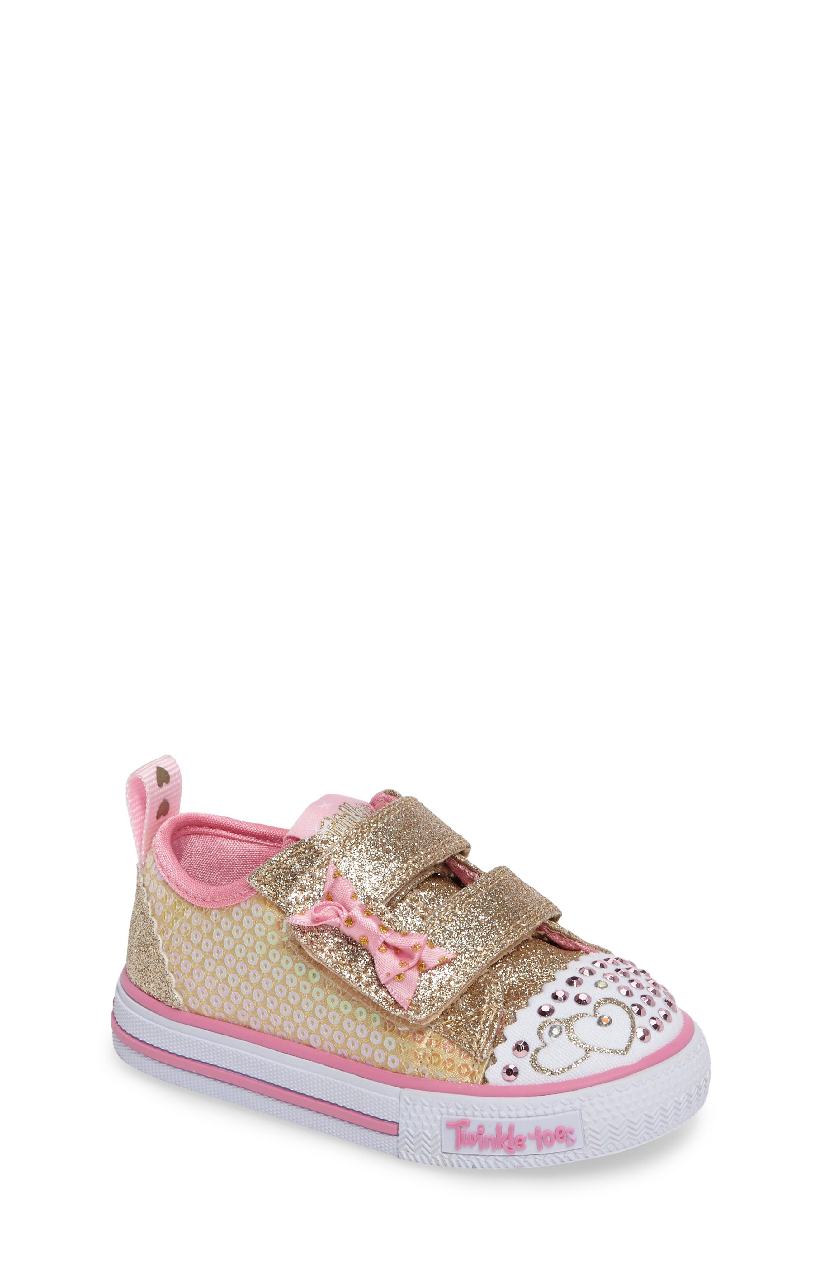 Shuffles - Itsy Bitsy Light-Up Sneaker,                             Main thumbnail 5, color,