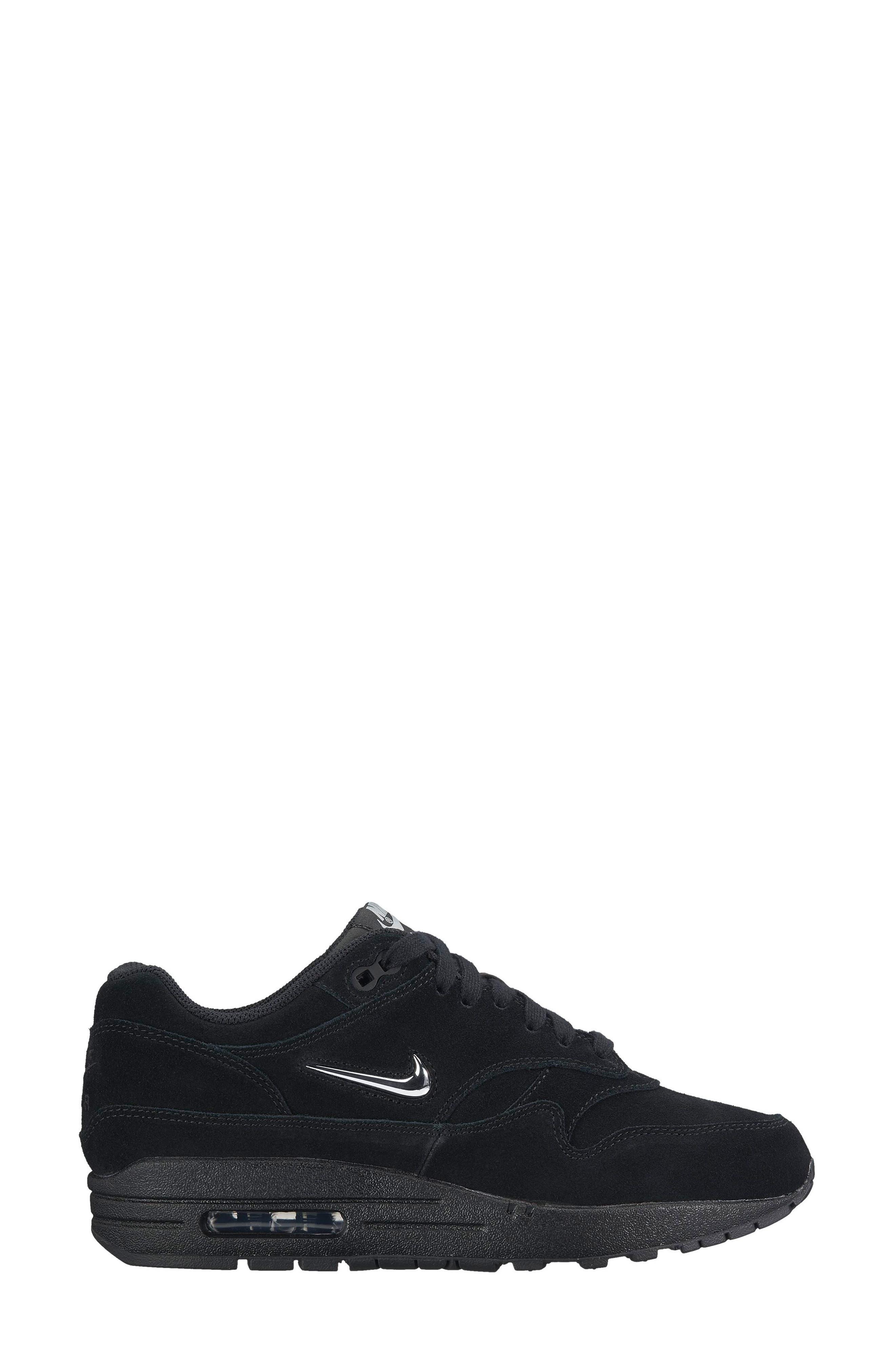 Air Max 1 Premium SC Sneaker,                             Alternate thumbnail 7, color,                             001