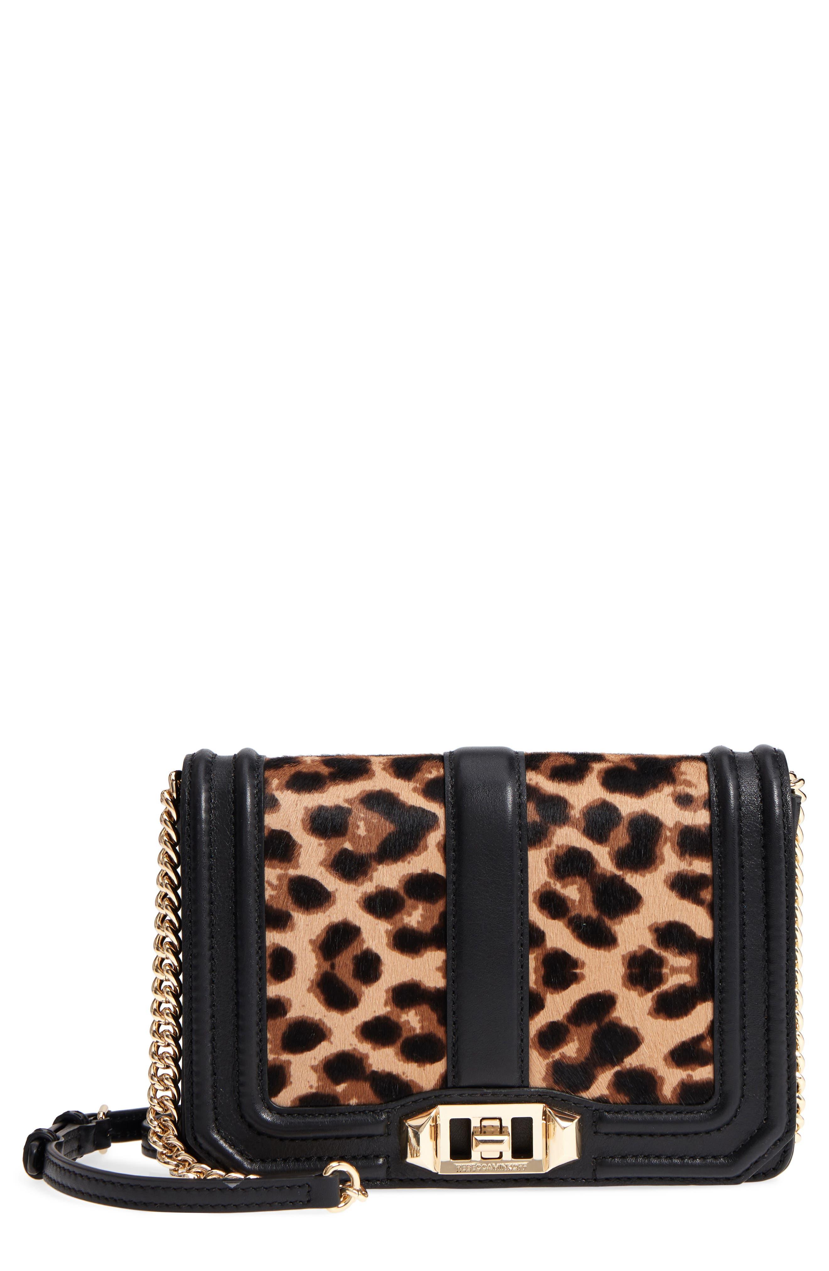 Small Love Genuine Calf Hair Crossbody Bag,                         Main,                         color, 200