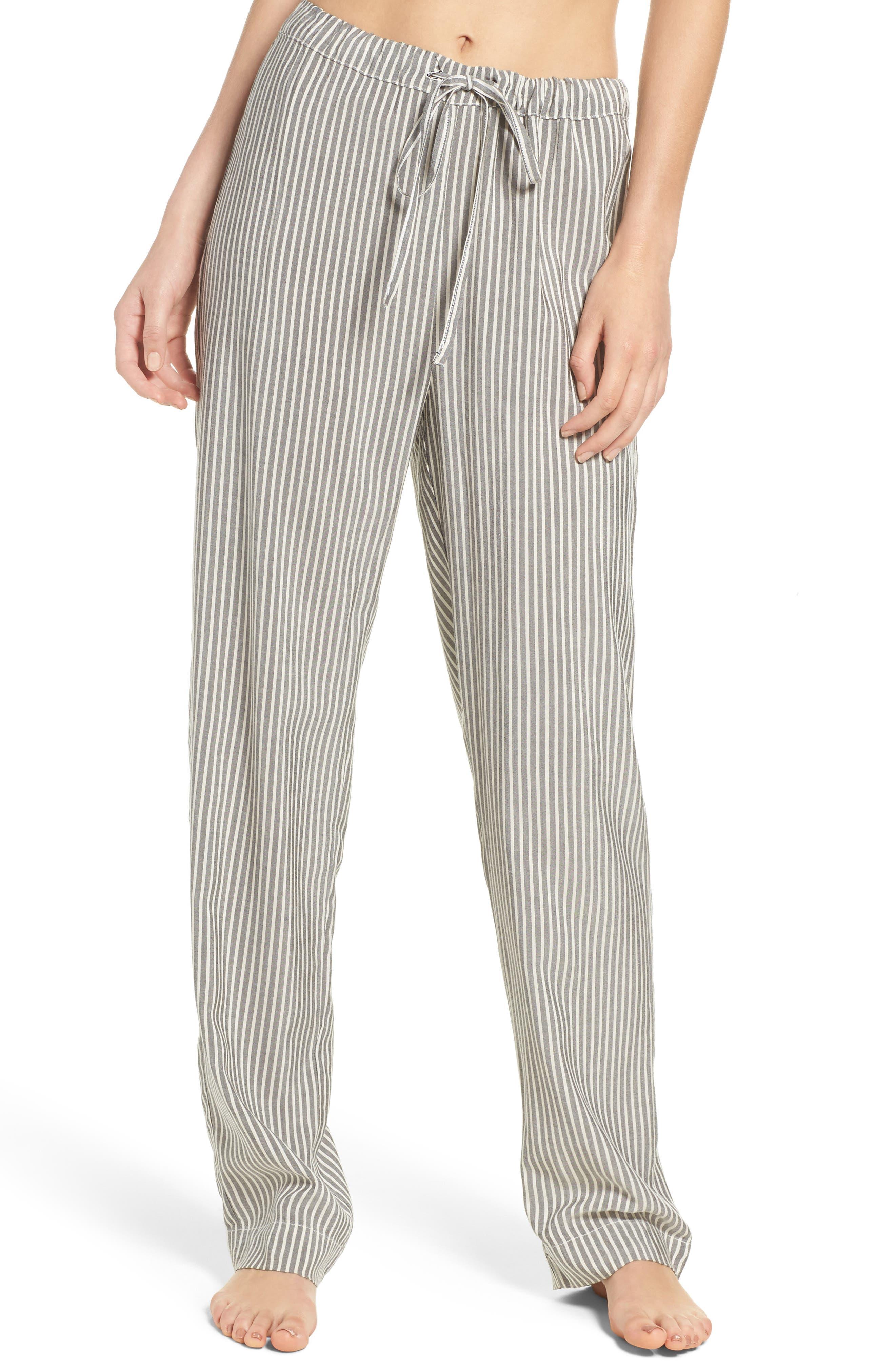 Stripe Pajama Pants,                             Main thumbnail 1, color,                             020