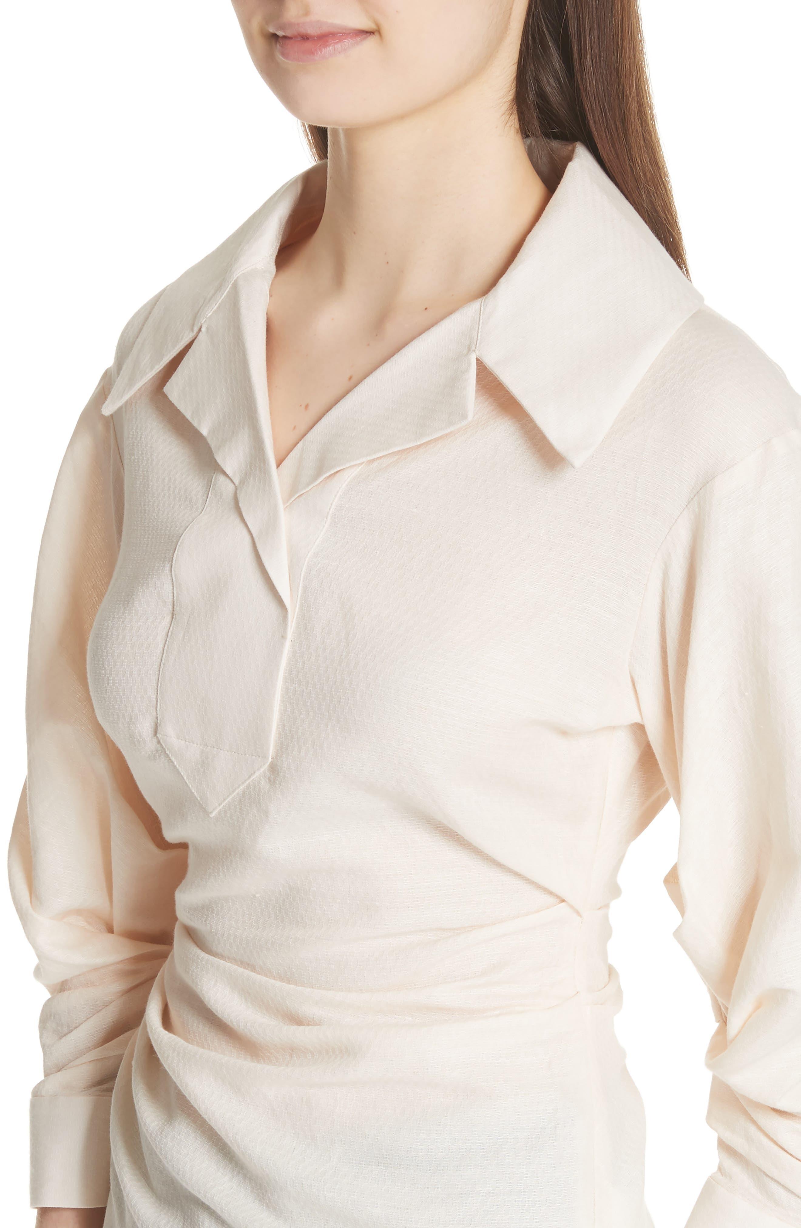 La Chemise Maceio Shirt,                             Alternate thumbnail 4, color,                             250