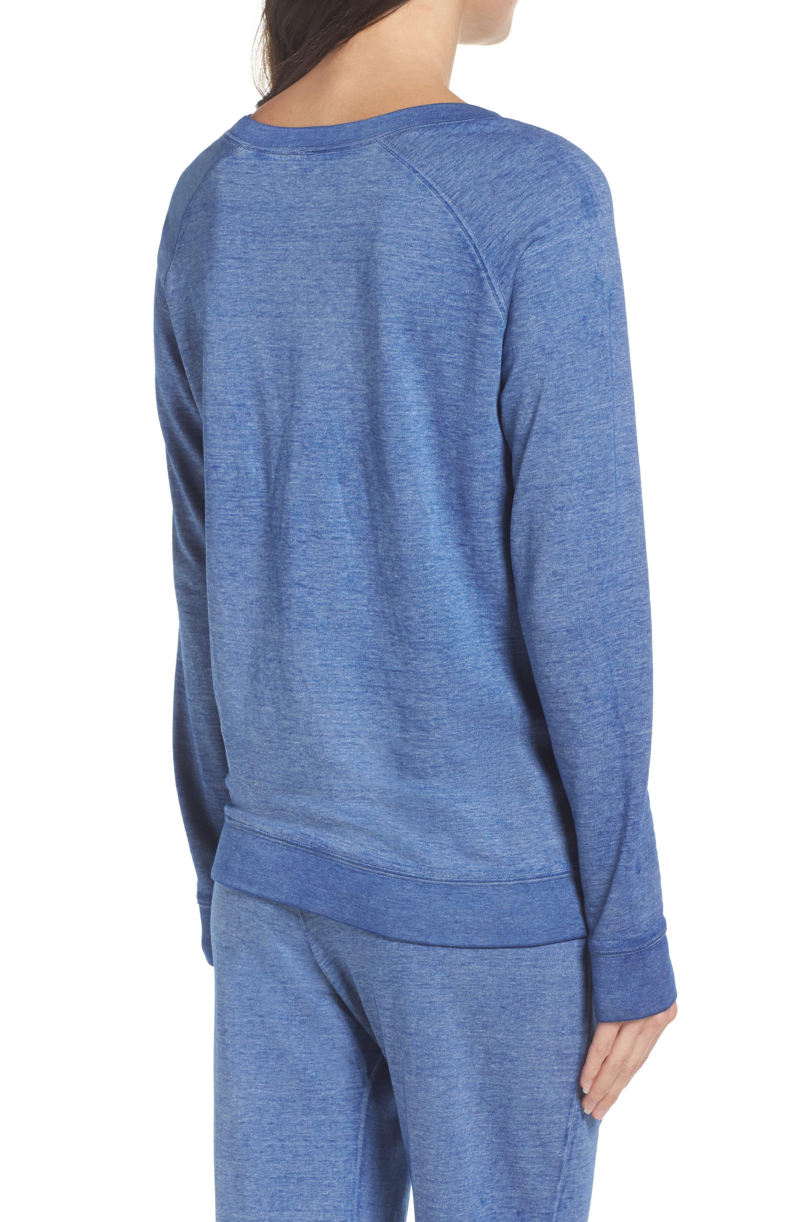 Burnout Lounge Sweatshirt,                             Alternate thumbnail 106, color,