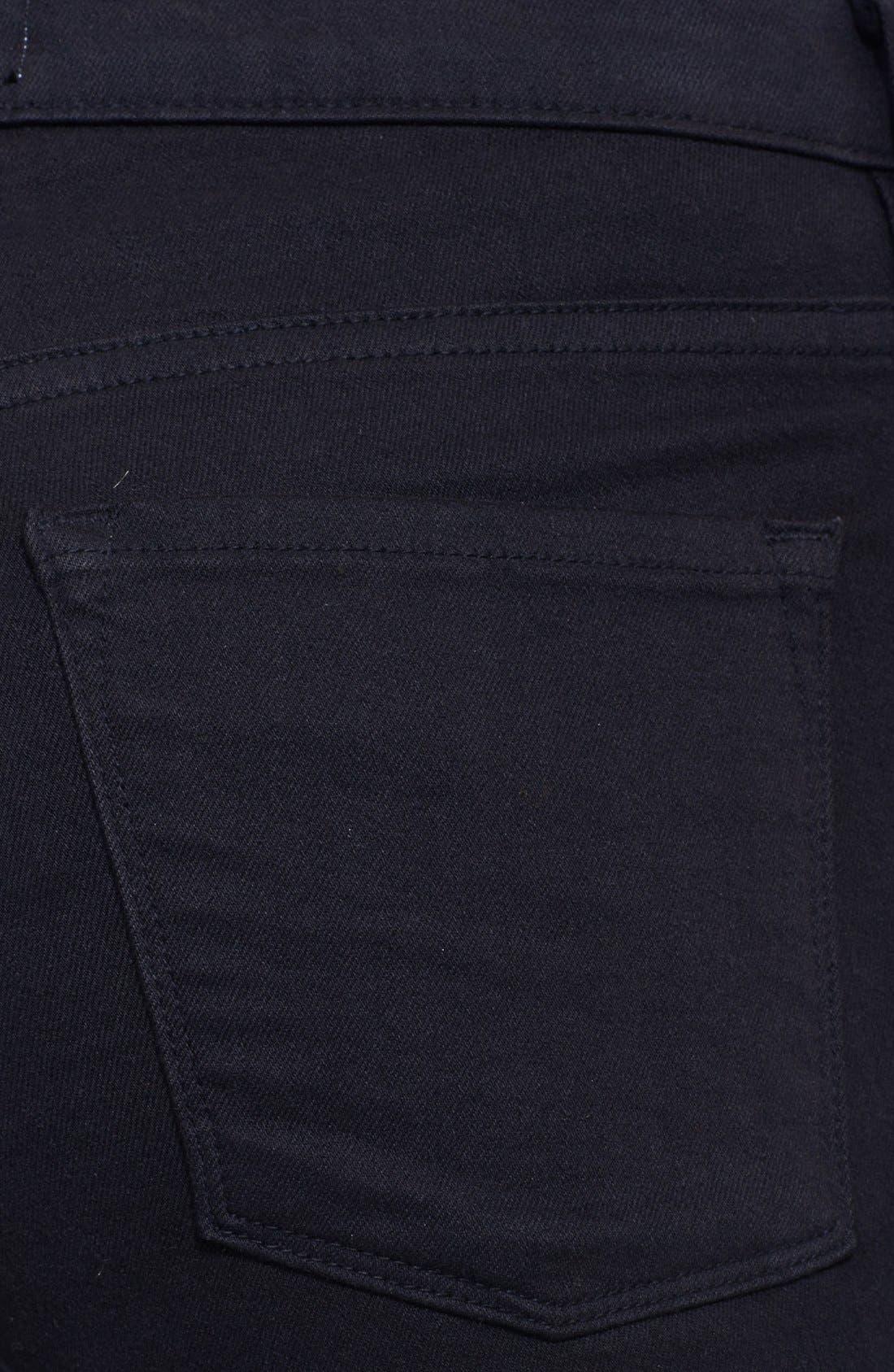 Le Color Skinny Jeans,                             Alternate thumbnail 4, color,                             FILM NOIR