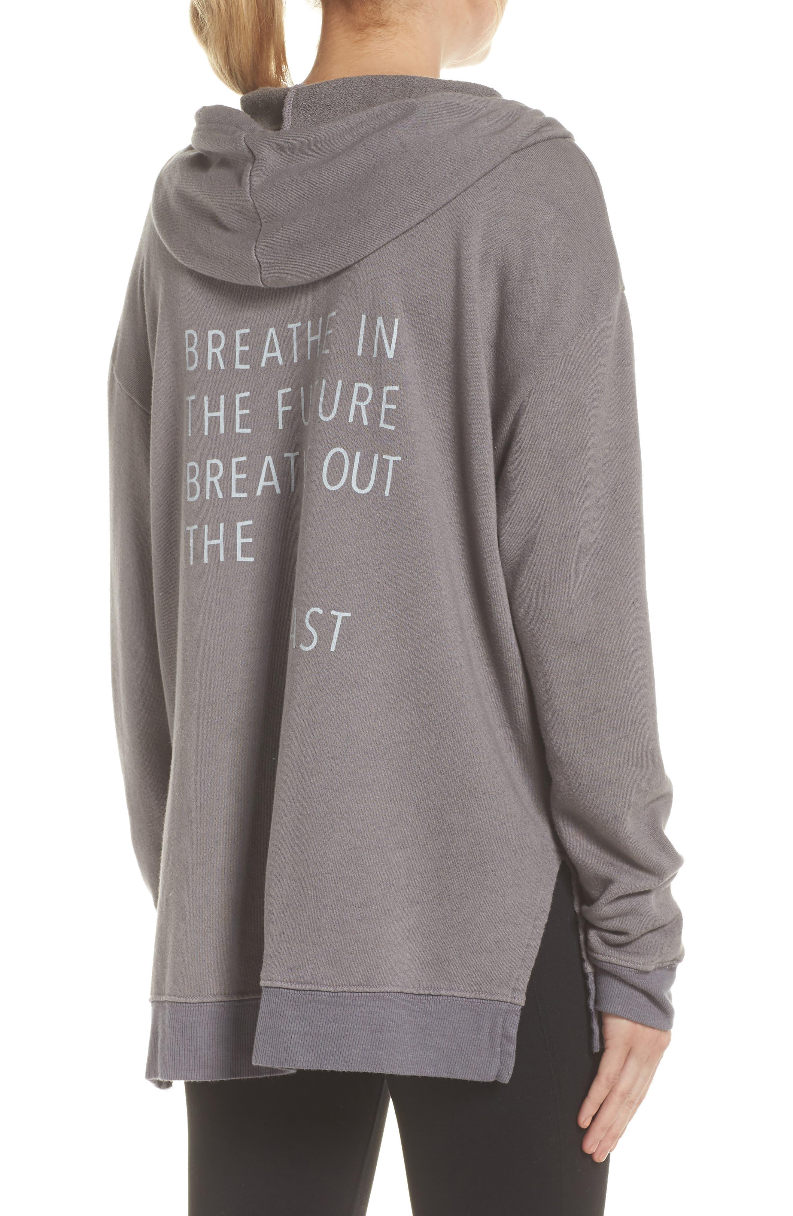 Sydney Breath In The Future Hoodie Sweatshirt,                             Alternate thumbnail 2, color,                             023