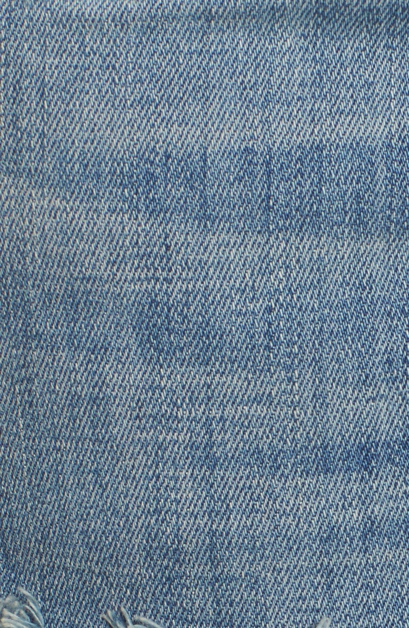 Halle Super Skinny Jeans,                             Alternate thumbnail 6, color,                             401