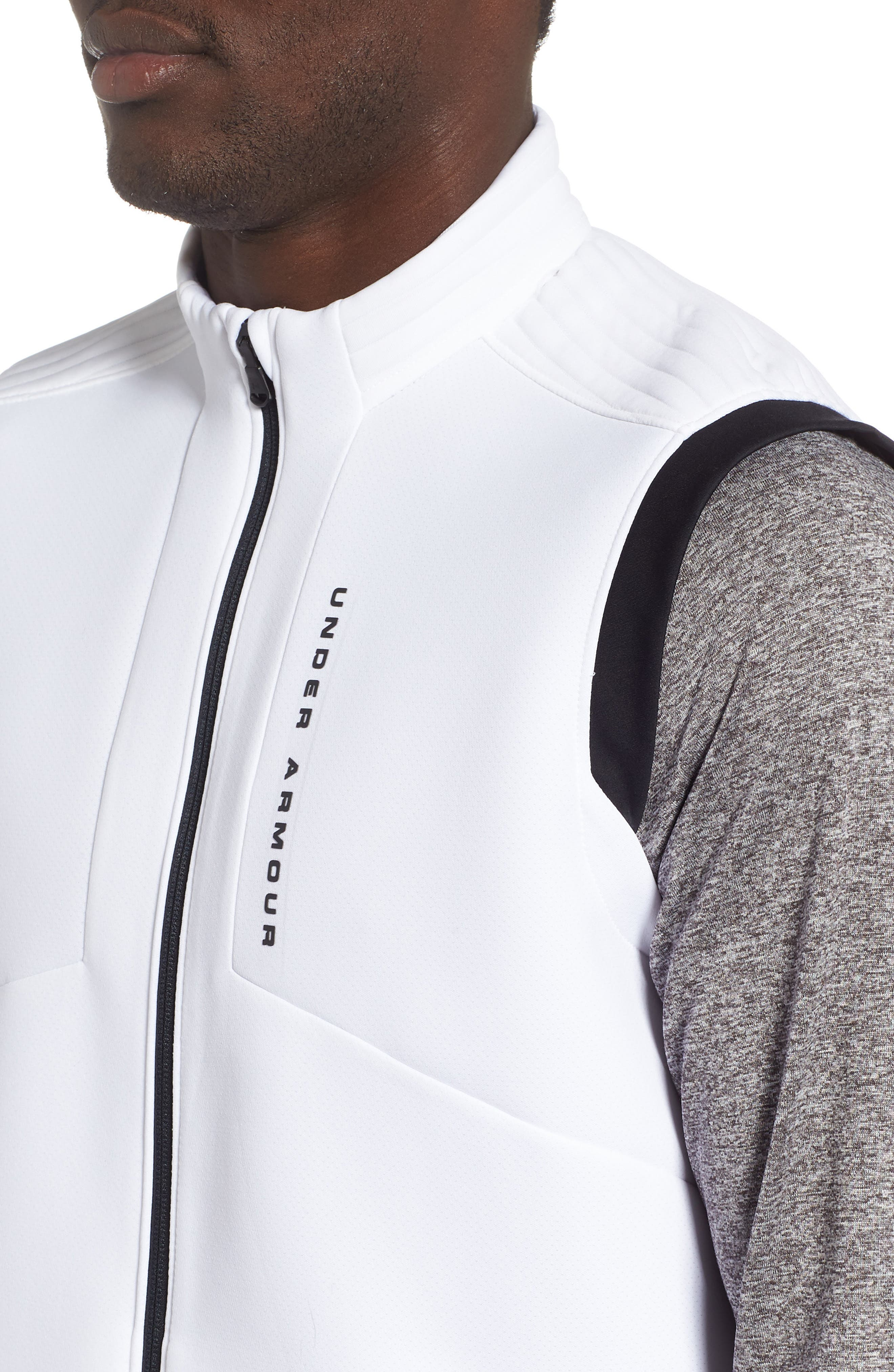 Storm Daytona Vest,                             Alternate thumbnail 4, color,                             WHITE/ BLACK/ BLACK