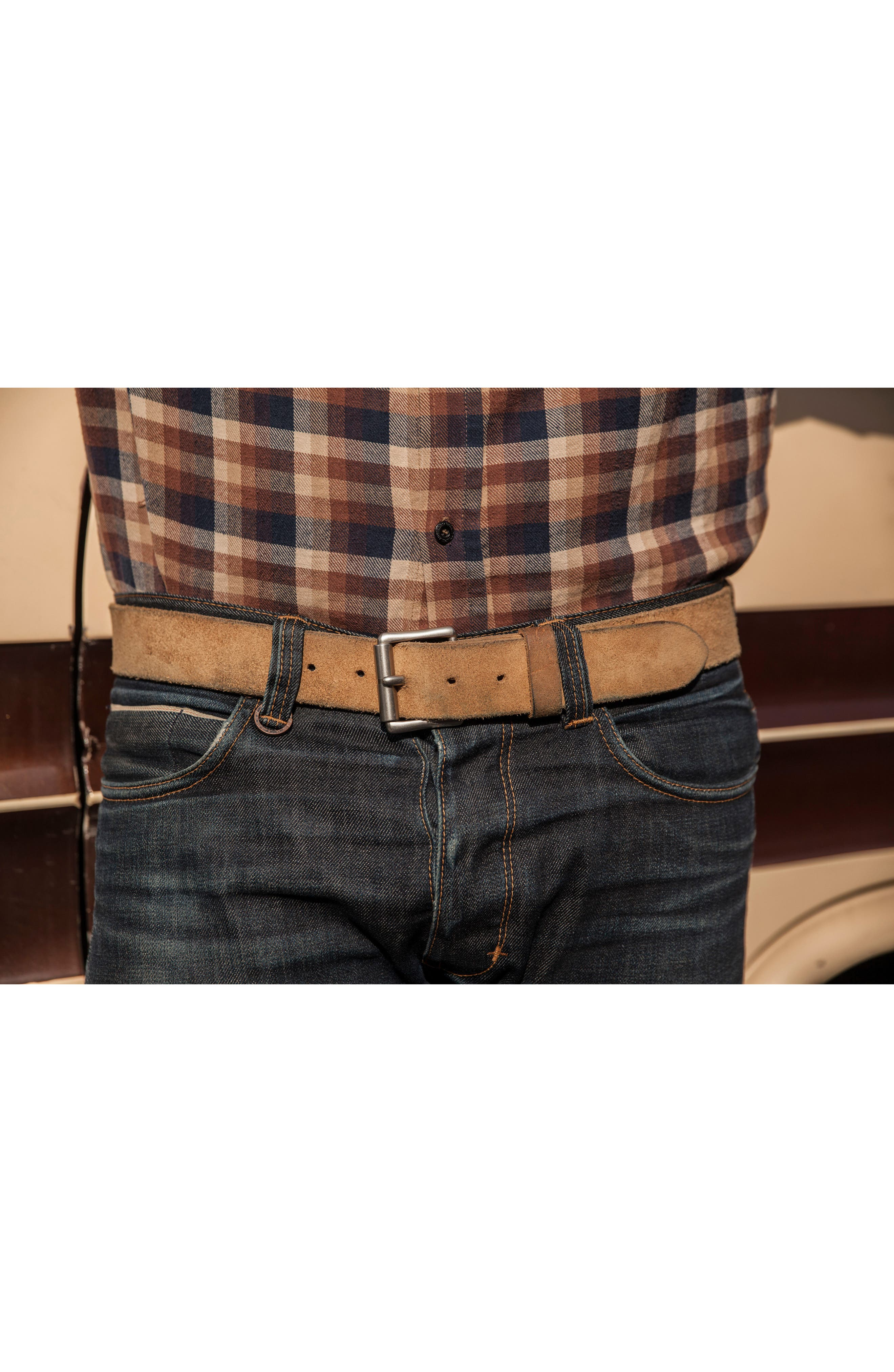 Leather Belt,                             Alternate thumbnail 2, color,                             HAWTHORNE MULESKINNER