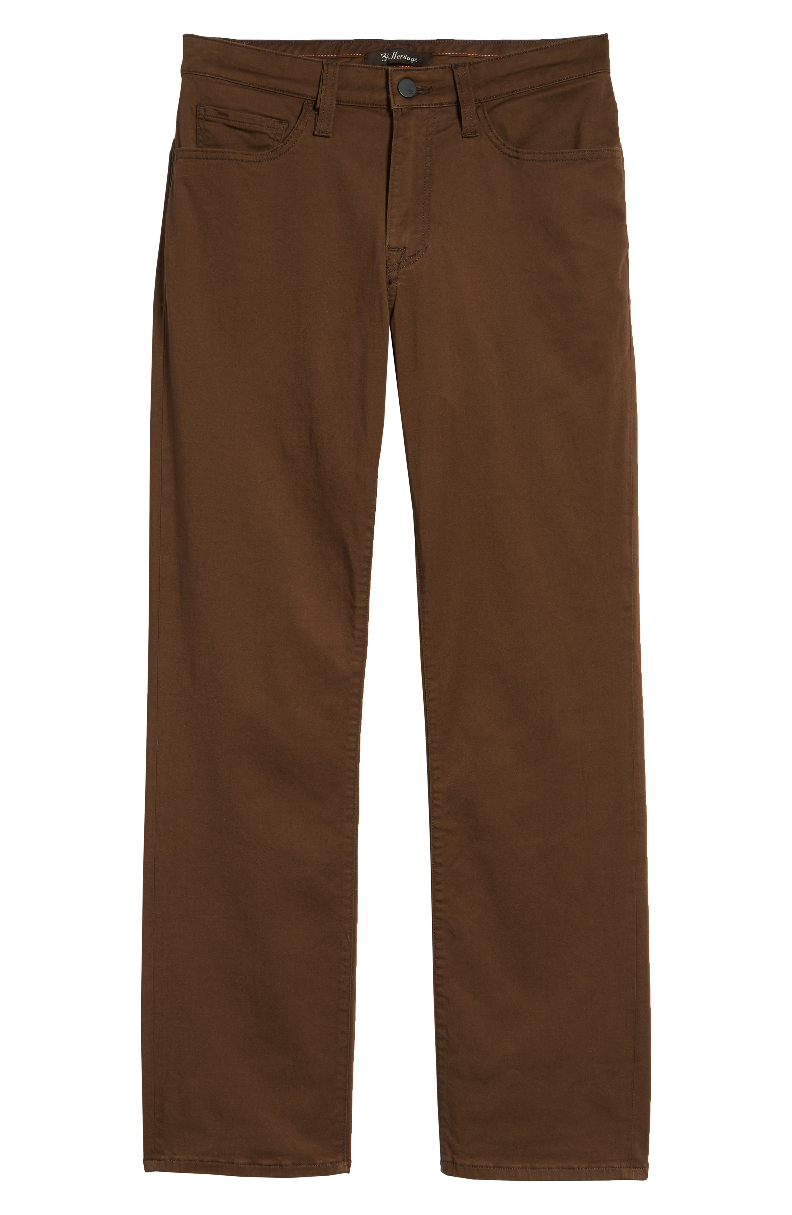 Charisma Relaxed Fit Twill Pants,                             Alternate thumbnail 6, color,                             CAF TWILL