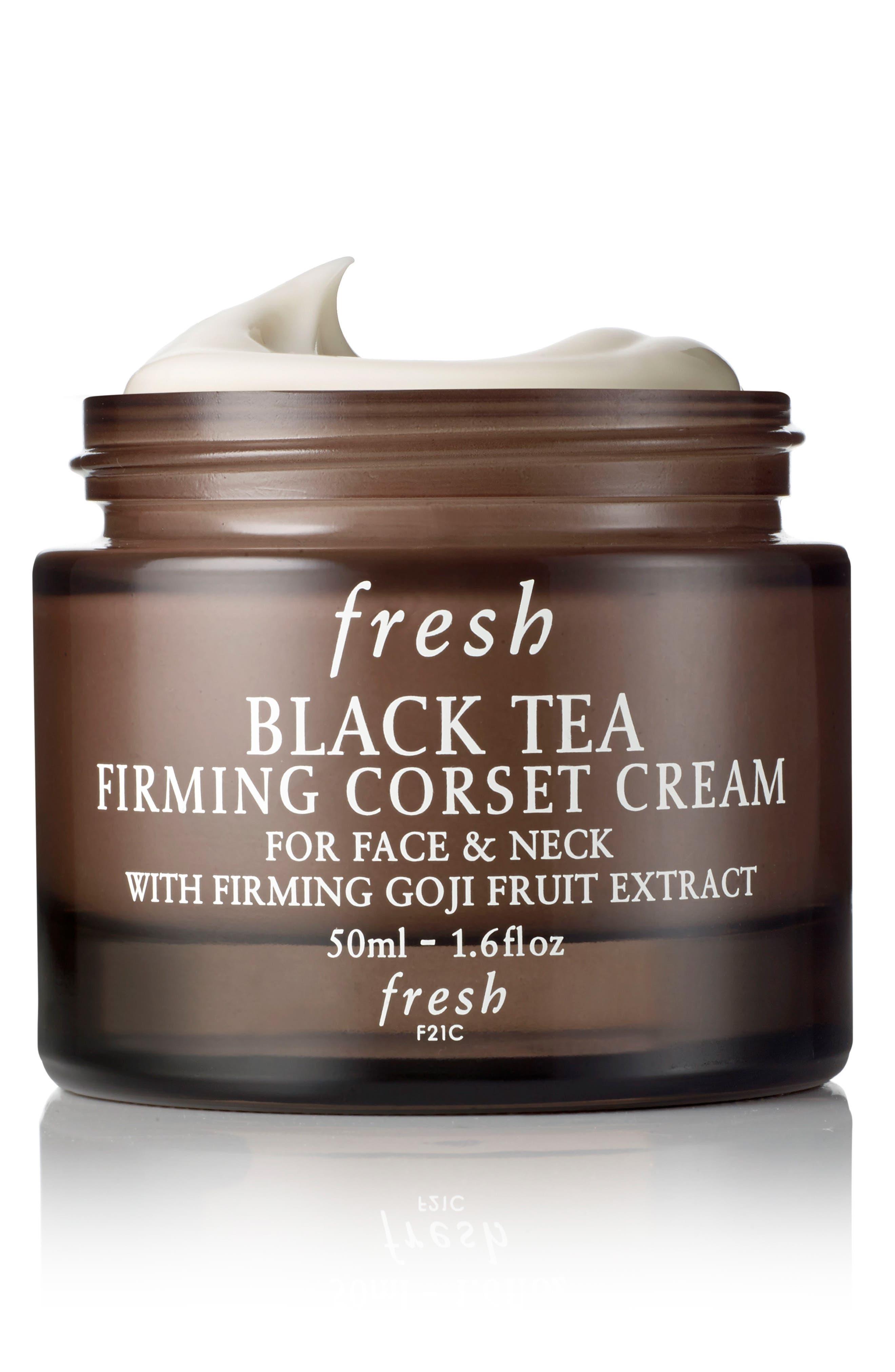 Black Tea Firming Corset Cream,                             Main thumbnail 1, color,                             NO COLOR