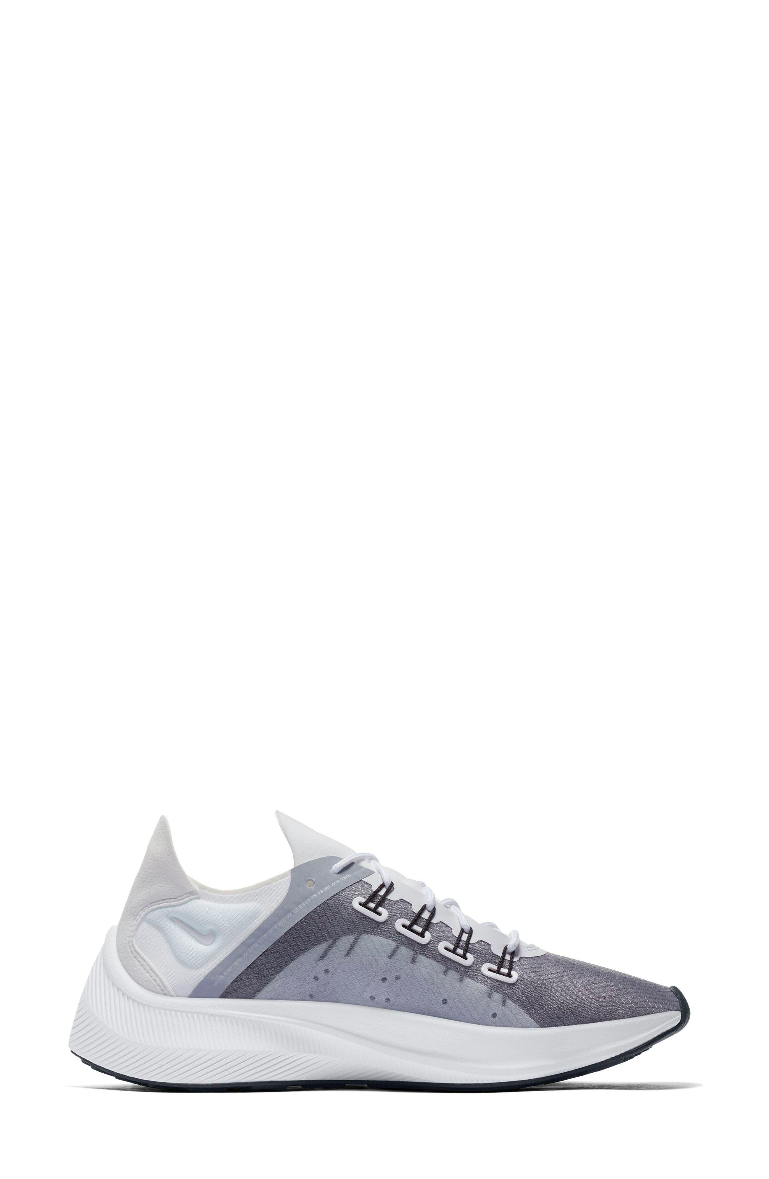 EXP-X14 Sneaker,                             Alternate thumbnail 3, color,                             WHITE/ WOLF GREY/ BLACK