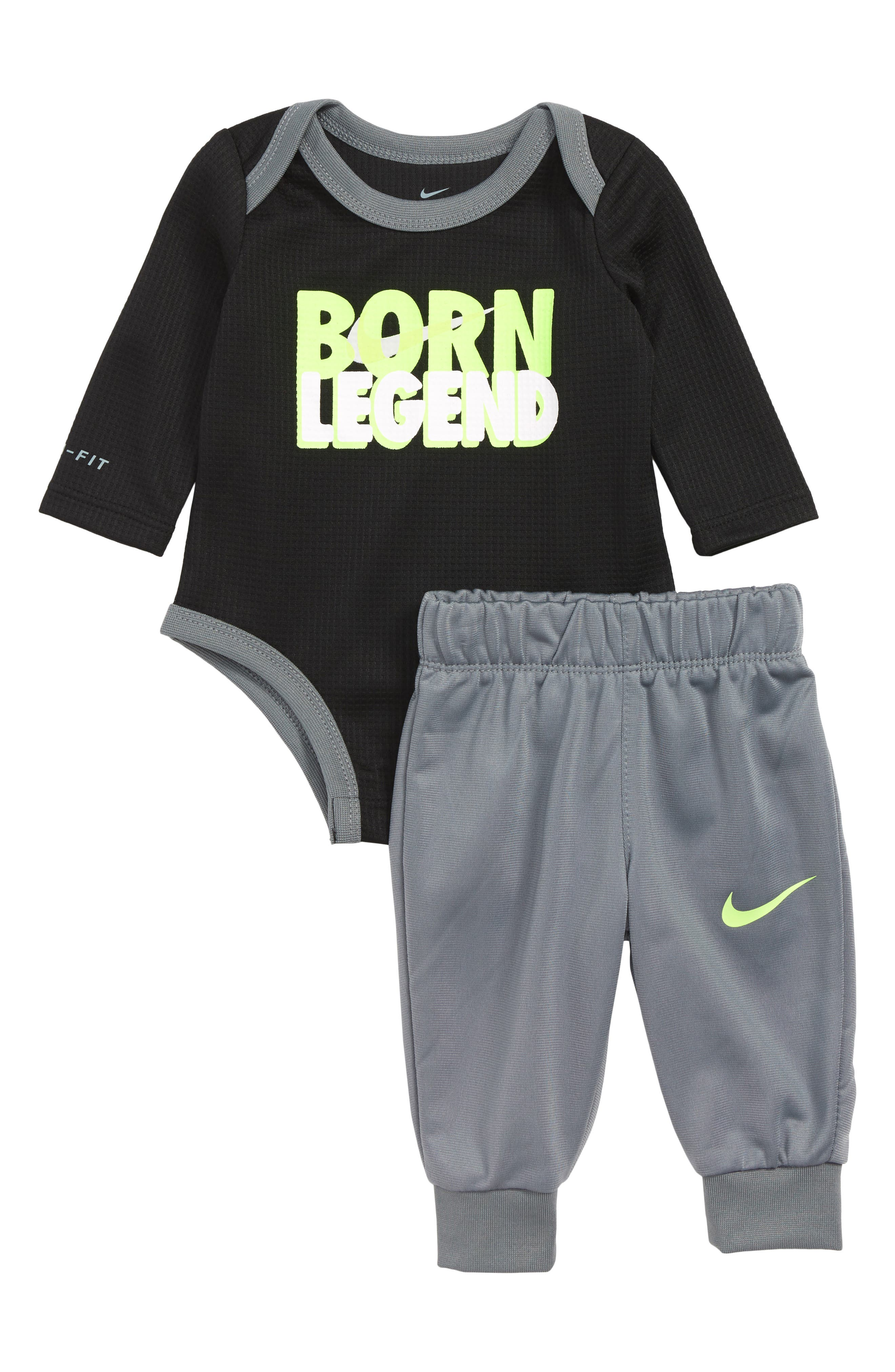 Infant Boys Nike Born Legend Thermal Bodysuit  Sweatpants Set