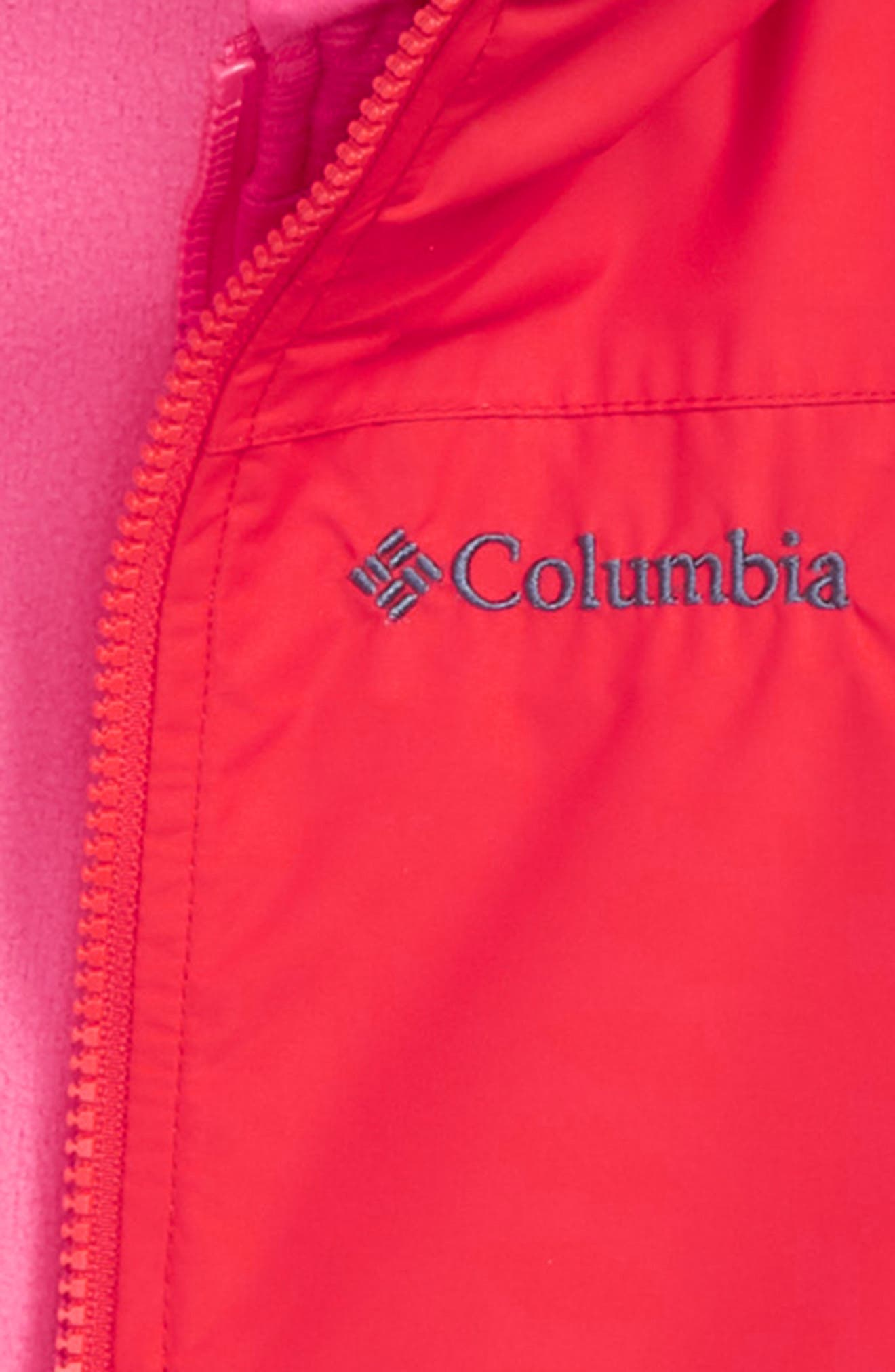 COLUMBIA,                             Explore S'more Omni-Tech<sup>™</sup> Waterproof 3-in-1 Jacket,                             Alternate thumbnail 2, color,                             RED SPARK DARK HEATHER