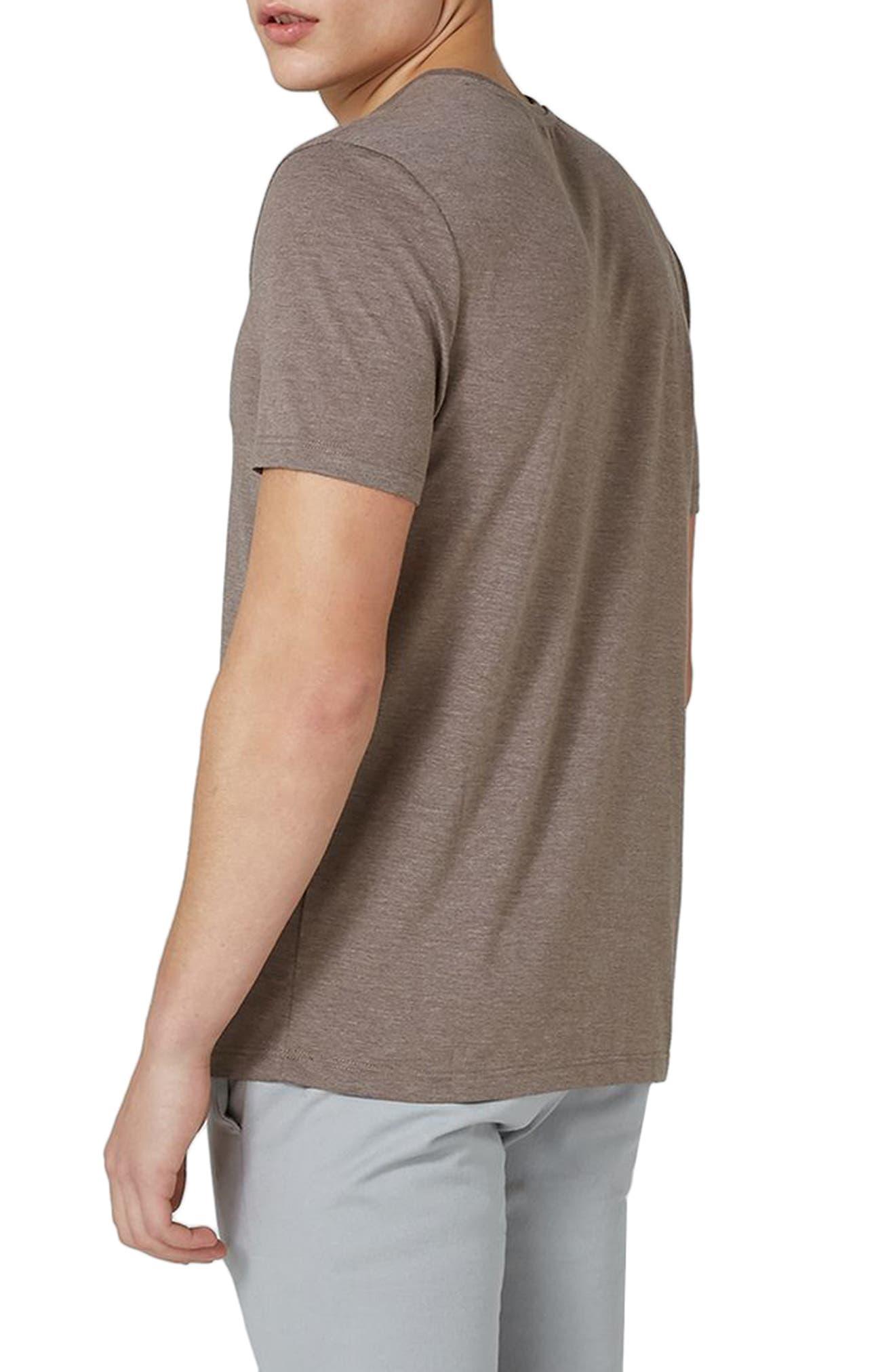 Slim Fit Crewneck T-Shirt,                             Alternate thumbnail 100, color,