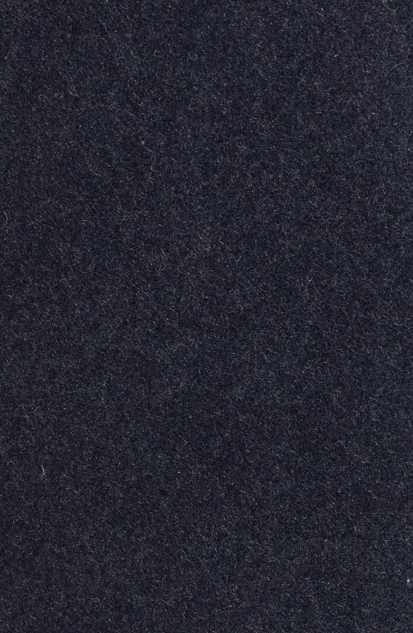 Mélange Bomber Jacket,                             Alternate thumbnail 6, color,                             402