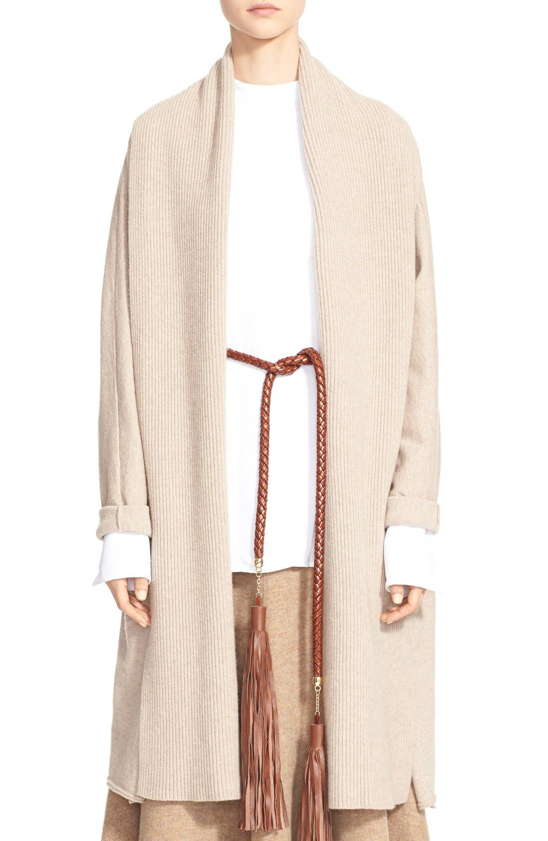 Wool & Cashmere Cardigan, Main, color, 250