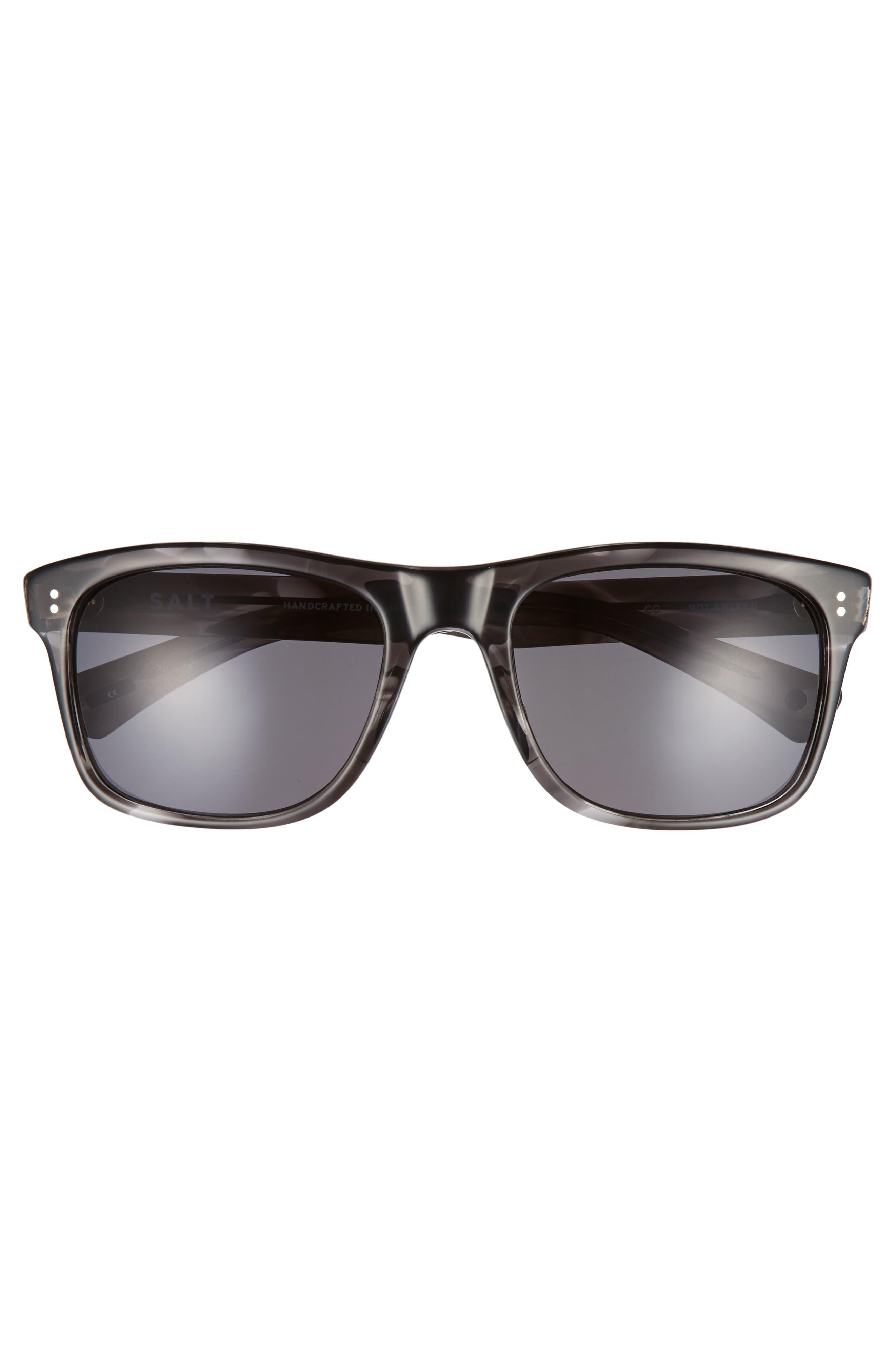 Tufnel 52mm Polarized Sunglasses,                             Alternate thumbnail 2, color,                             COLD GREY