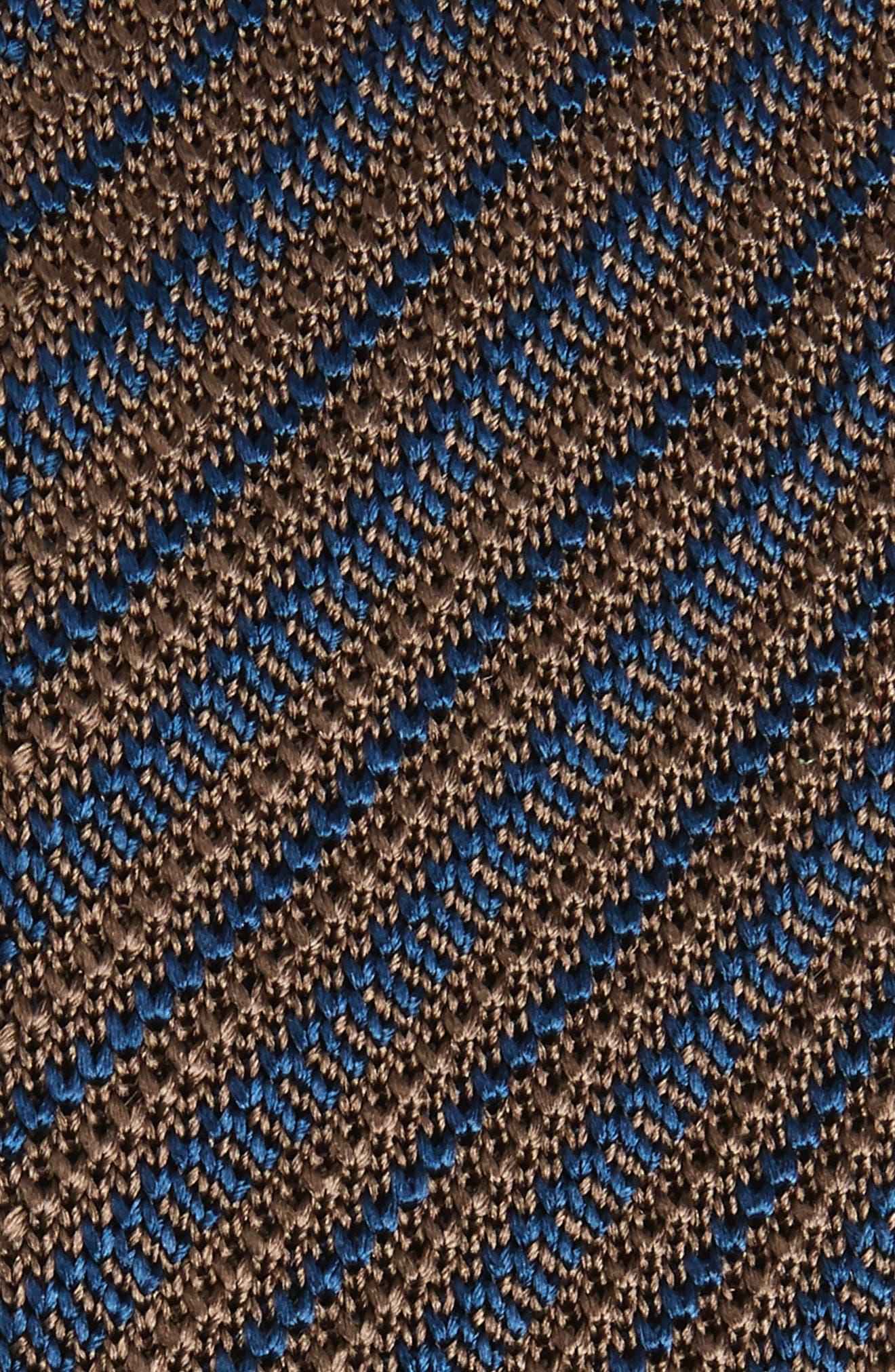 Stripe Knit Silk Skinny Tie,                             Alternate thumbnail 2, color,                             217