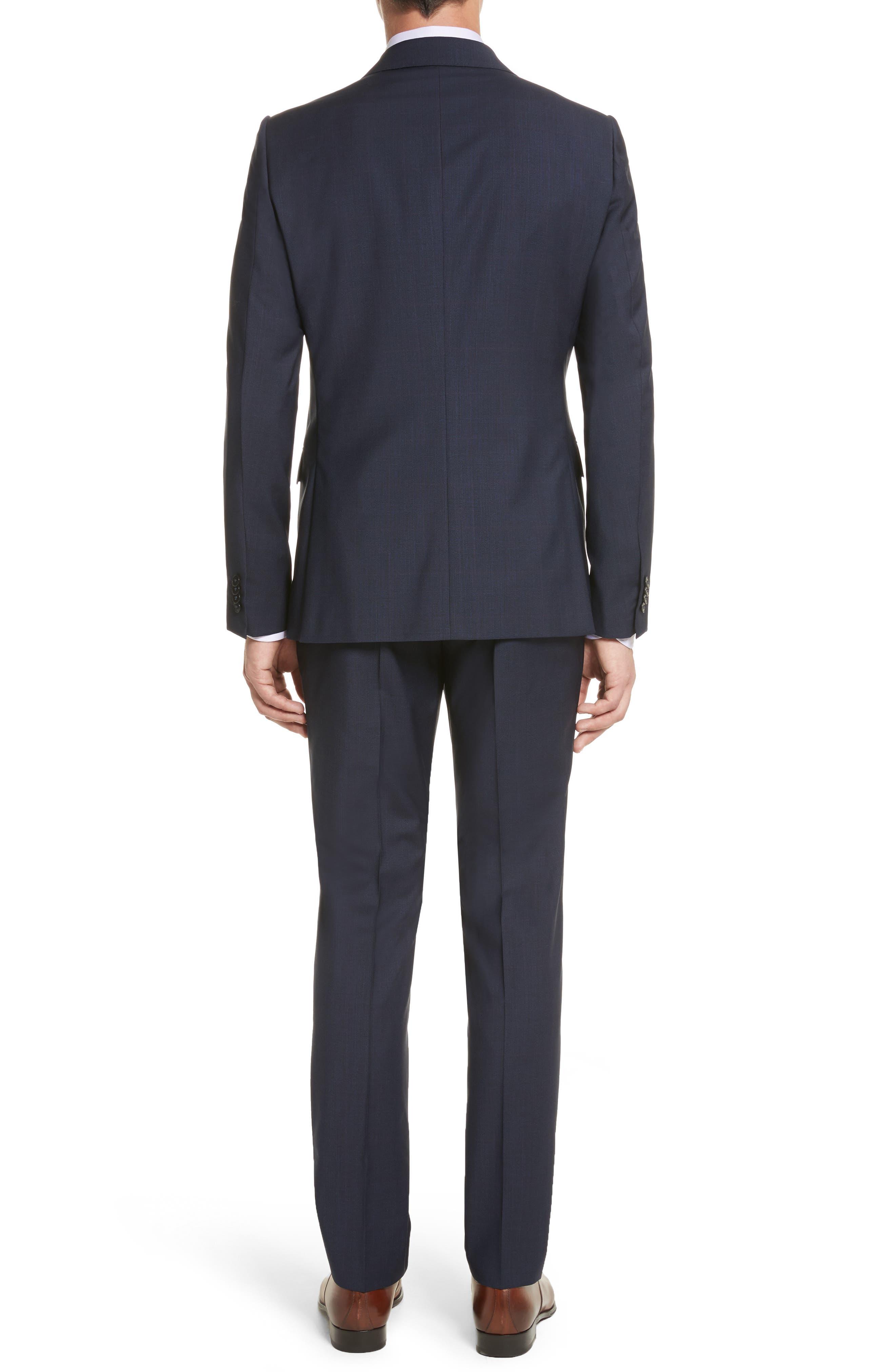 Classic Fit Check Wool Suit,                             Alternate thumbnail 2, color,                             416