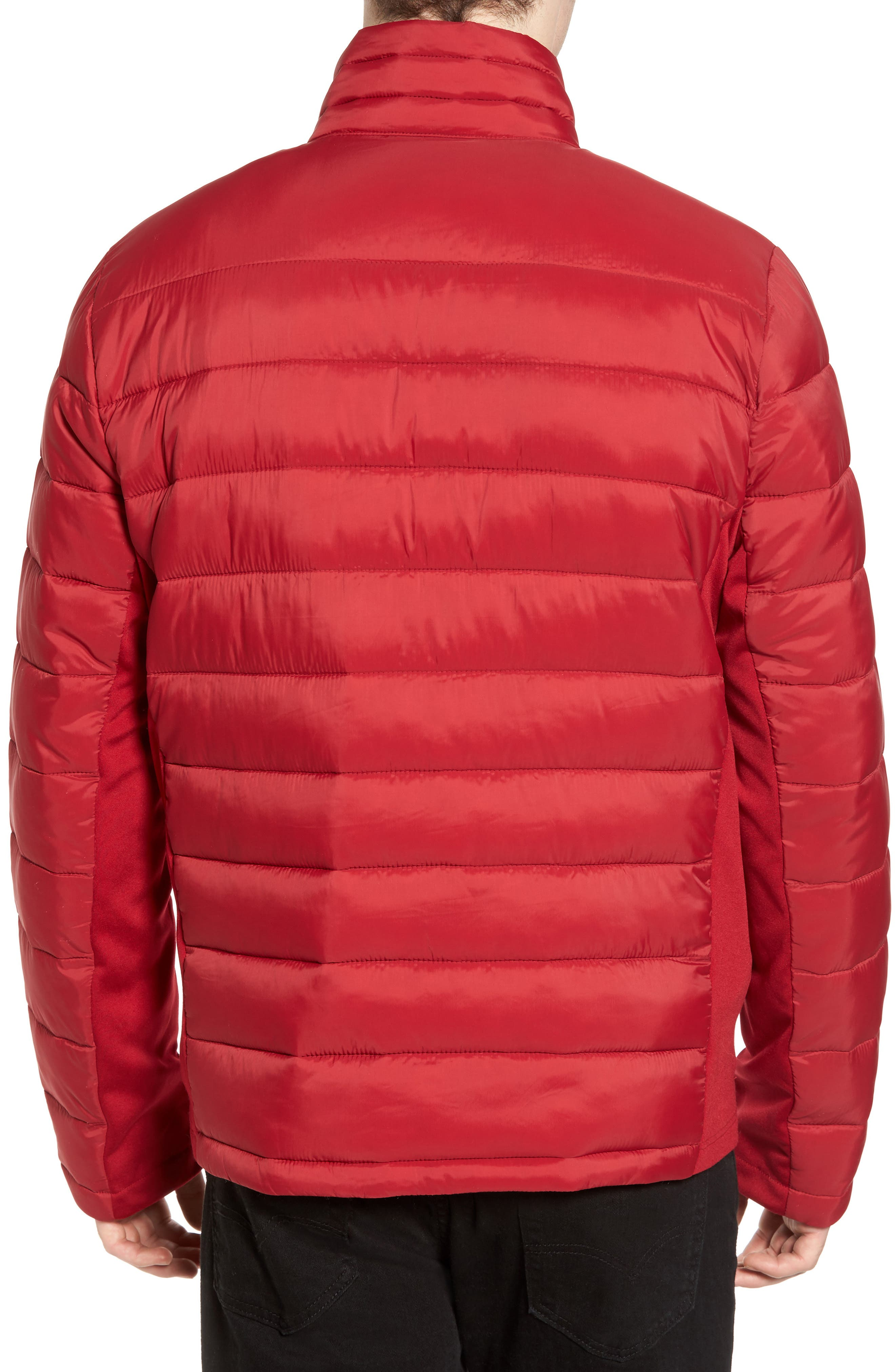 Water Resistant Packable Puffer Jacket,                             Alternate thumbnail 8, color,