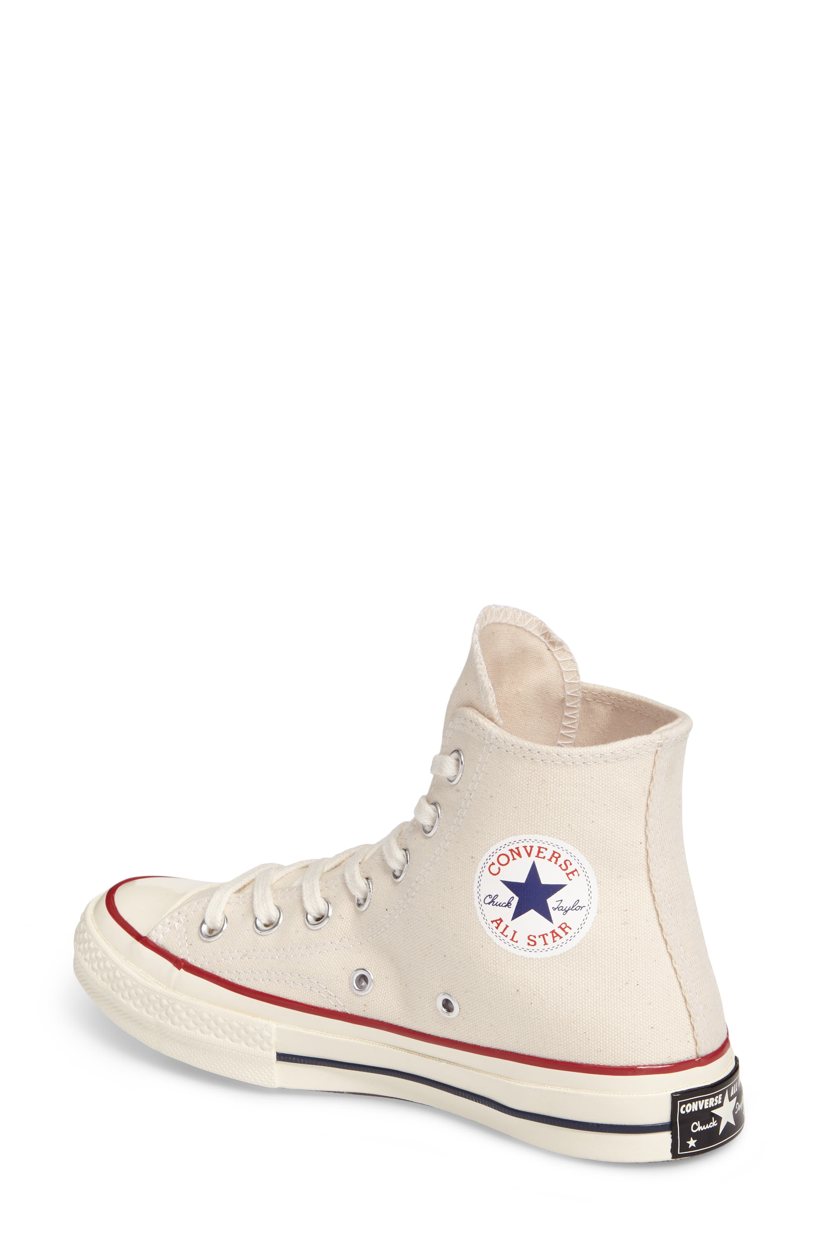 Chuck Taylor<sup>®</sup> All Star<sup>®</sup> '70 High Top Sneaker,                             Alternate thumbnail 2, color,                             PARCHMENT